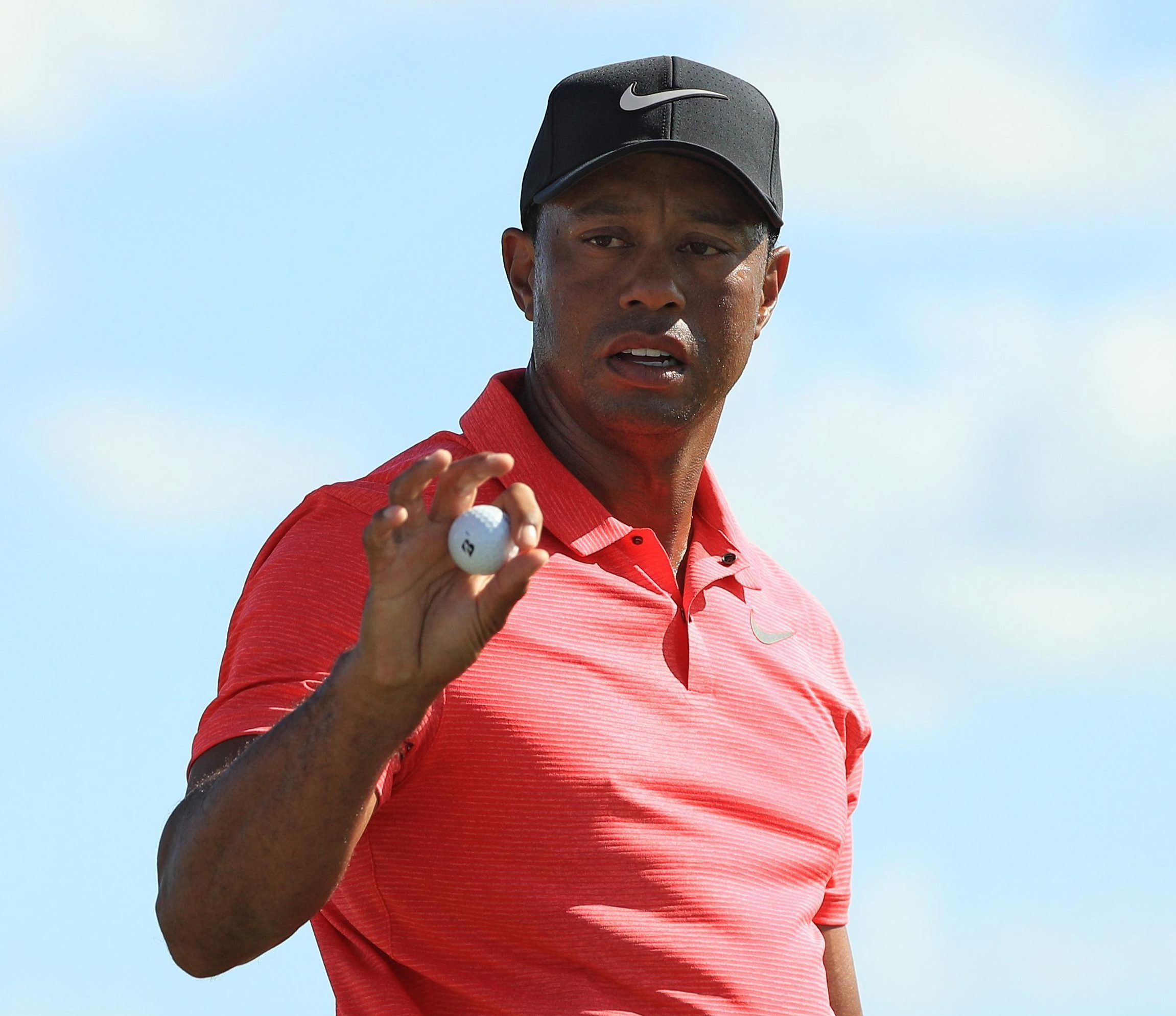 Tiger Woods finished in the top ten on his comeback