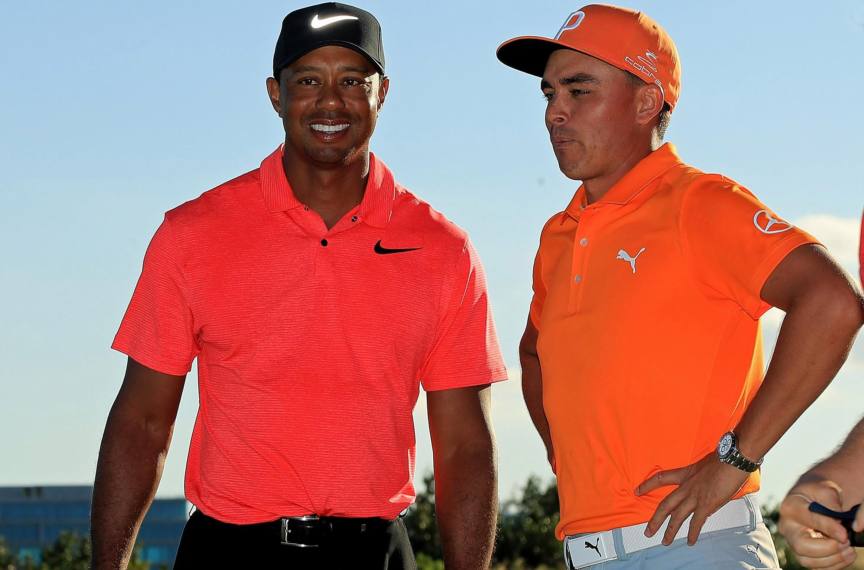Rickie Fowler was victorious at the Hero World Challenge after a blistering final-round 61