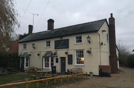 The landlady at the Bull Pub in Suffolk called Marcis Blahins a taxi back to his home in Haverhill