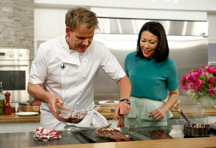 Gordon Ramsay worked his way up through the ranks in kitchens