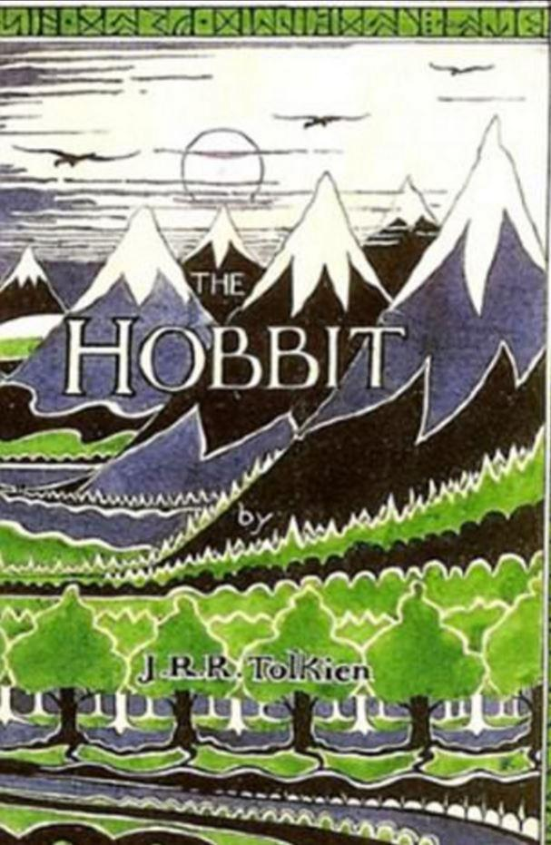 The Hobbit, in perfect condition and with a typo corrected by hand on the back, is worth £40k