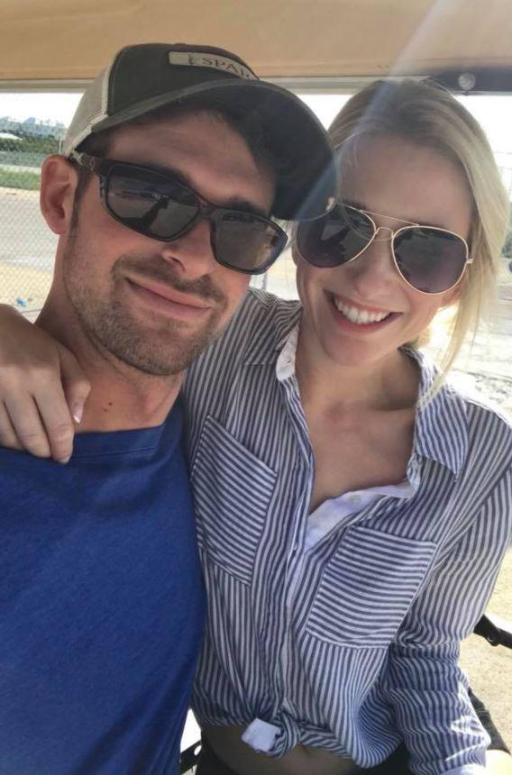 The couple were married last month and honeymooned in the Bahamas