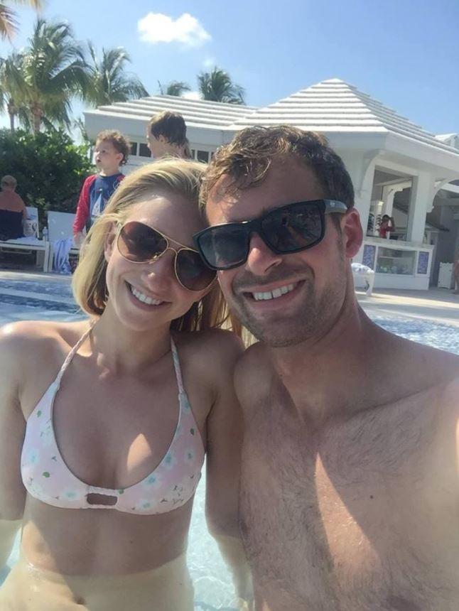 Sarah Illig and Evan Carroll went to the Bahamas on honeymoon