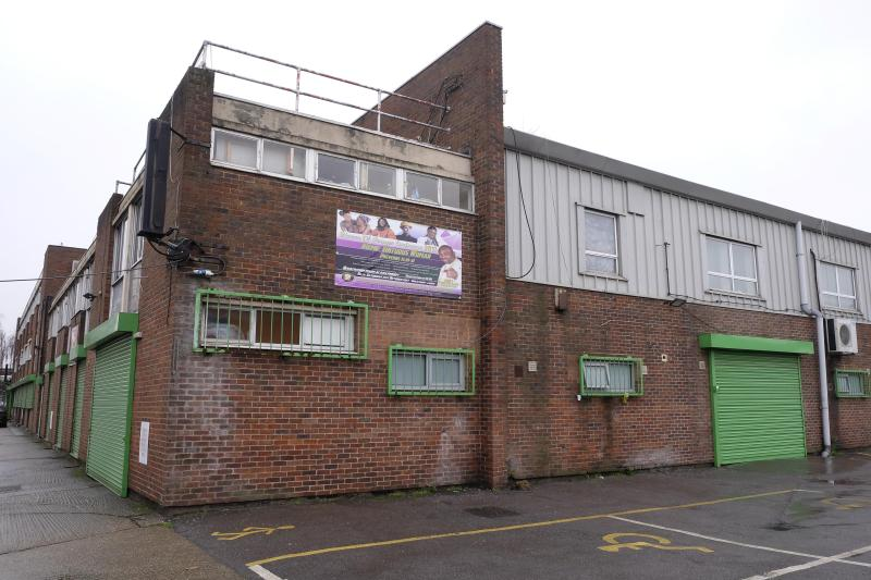 The church is based at a converted office block in a deprived area of Barking, East London