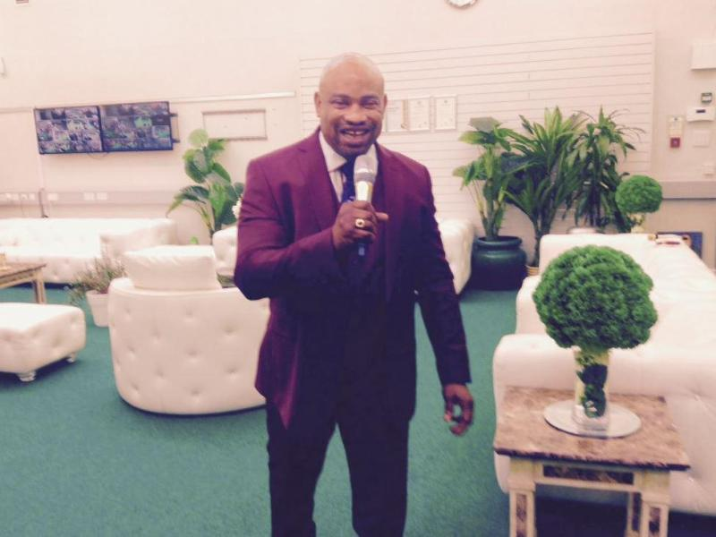 Alex Omokudu claims to have been'heavily anointed with healing powers from God'