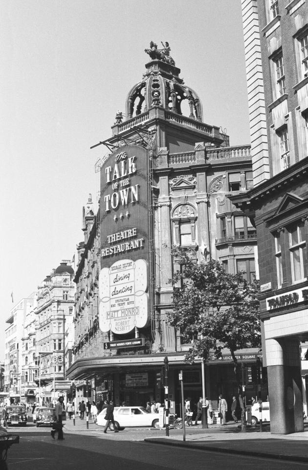 The Talk of the Town was London's super club of the 60s