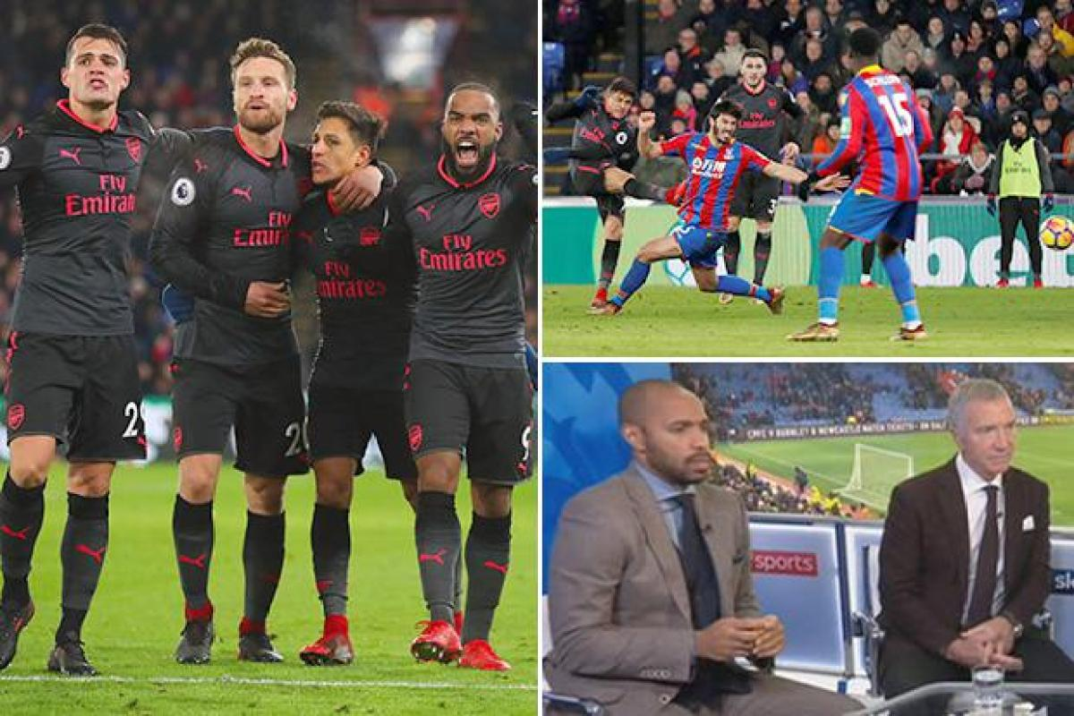 e6bf6e5fe Arsenal legend Thierry Henry believes Alexis Sanchez has caused a divide in  the dressing room
