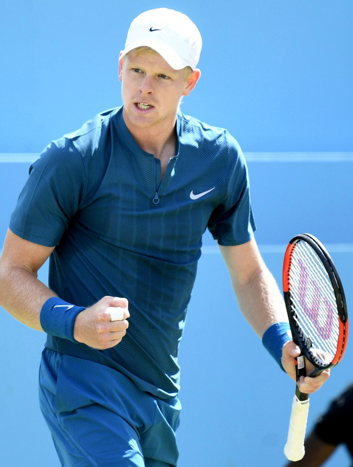 Kyle Edmund has enjoyed a great season and is now a top 20 player