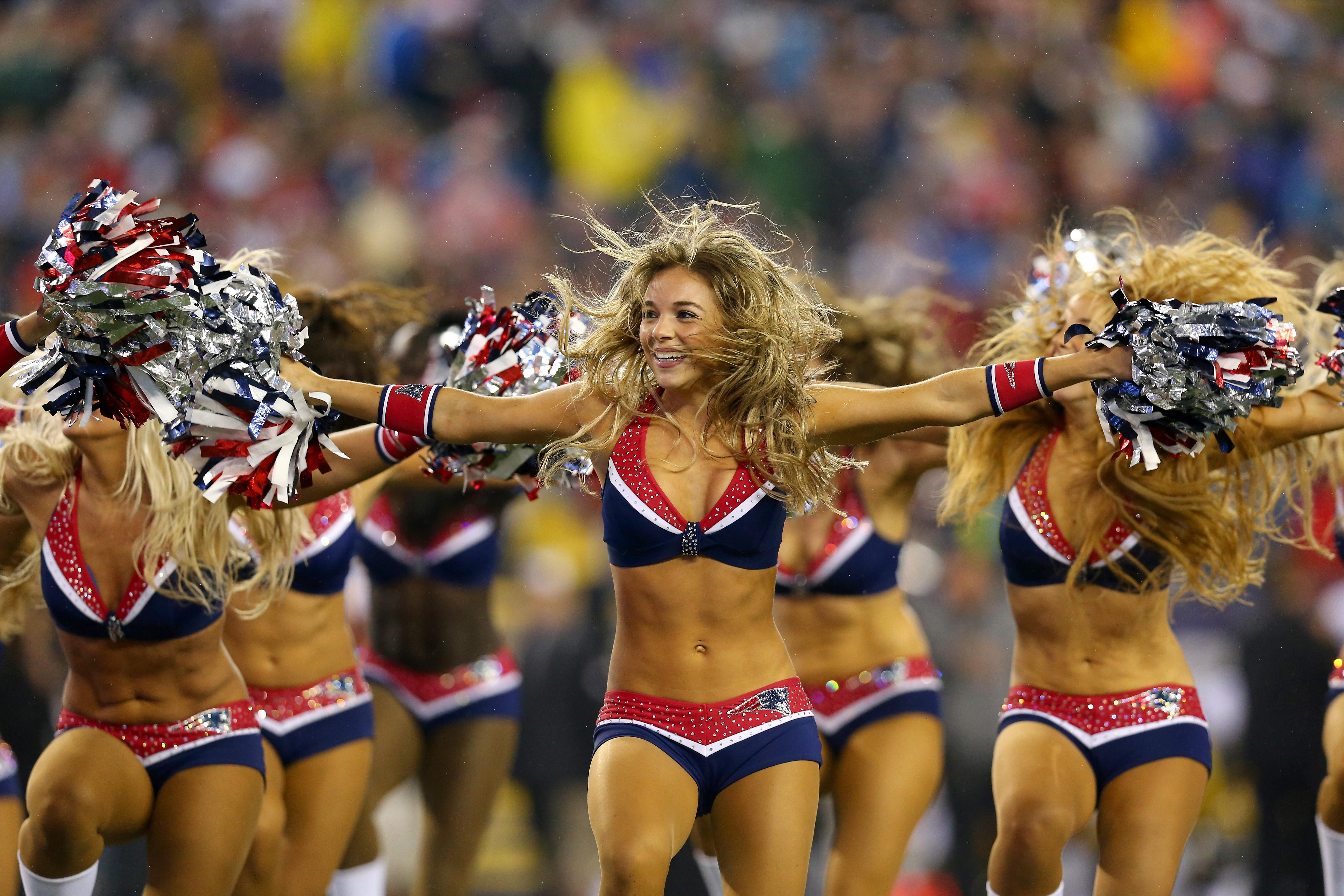 New England Patriots cheerleaders will return to the Super Bowl for the third time in four years