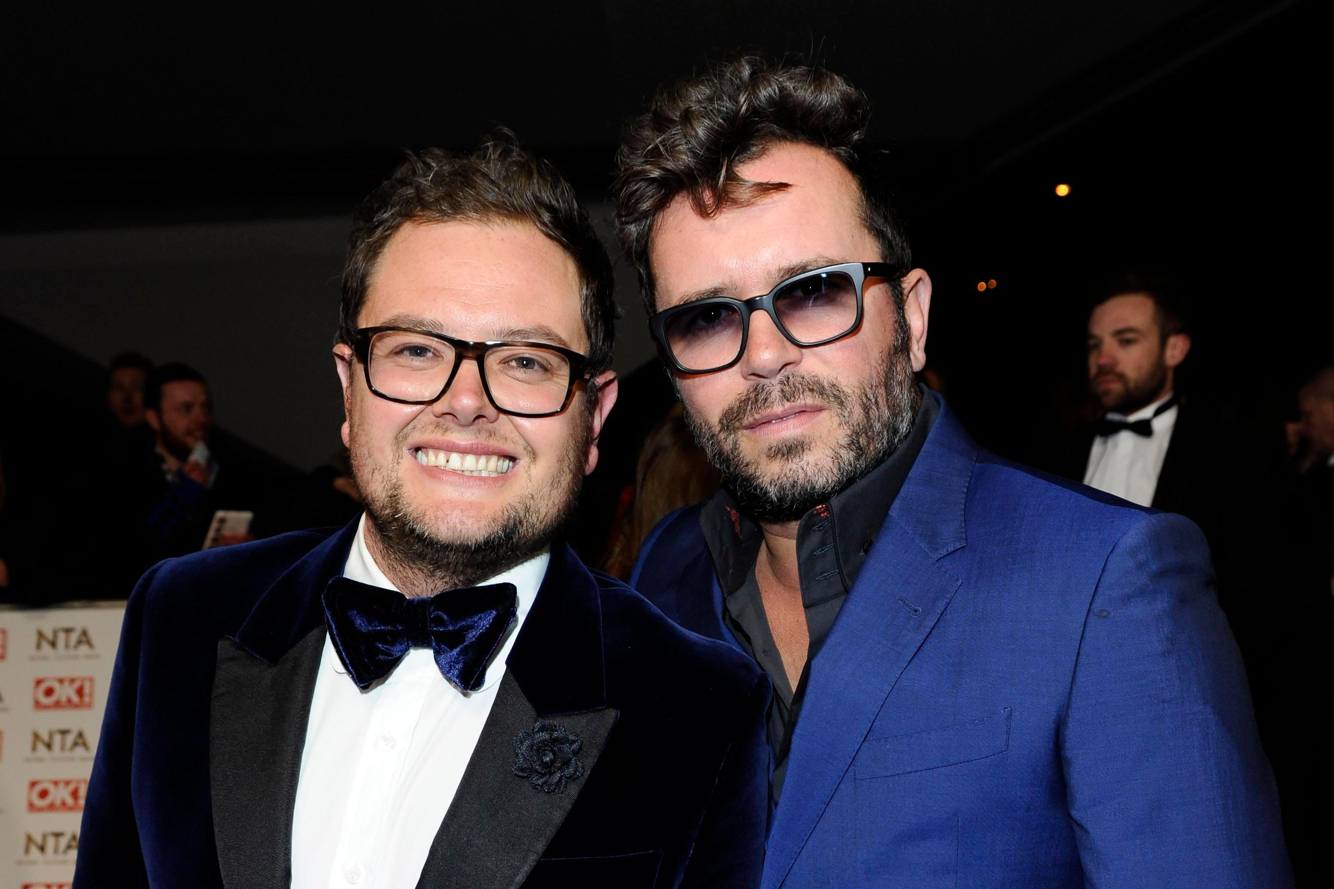 Alan Carr and fiance Paul Drayton tie the knot in secret wedding in LA
