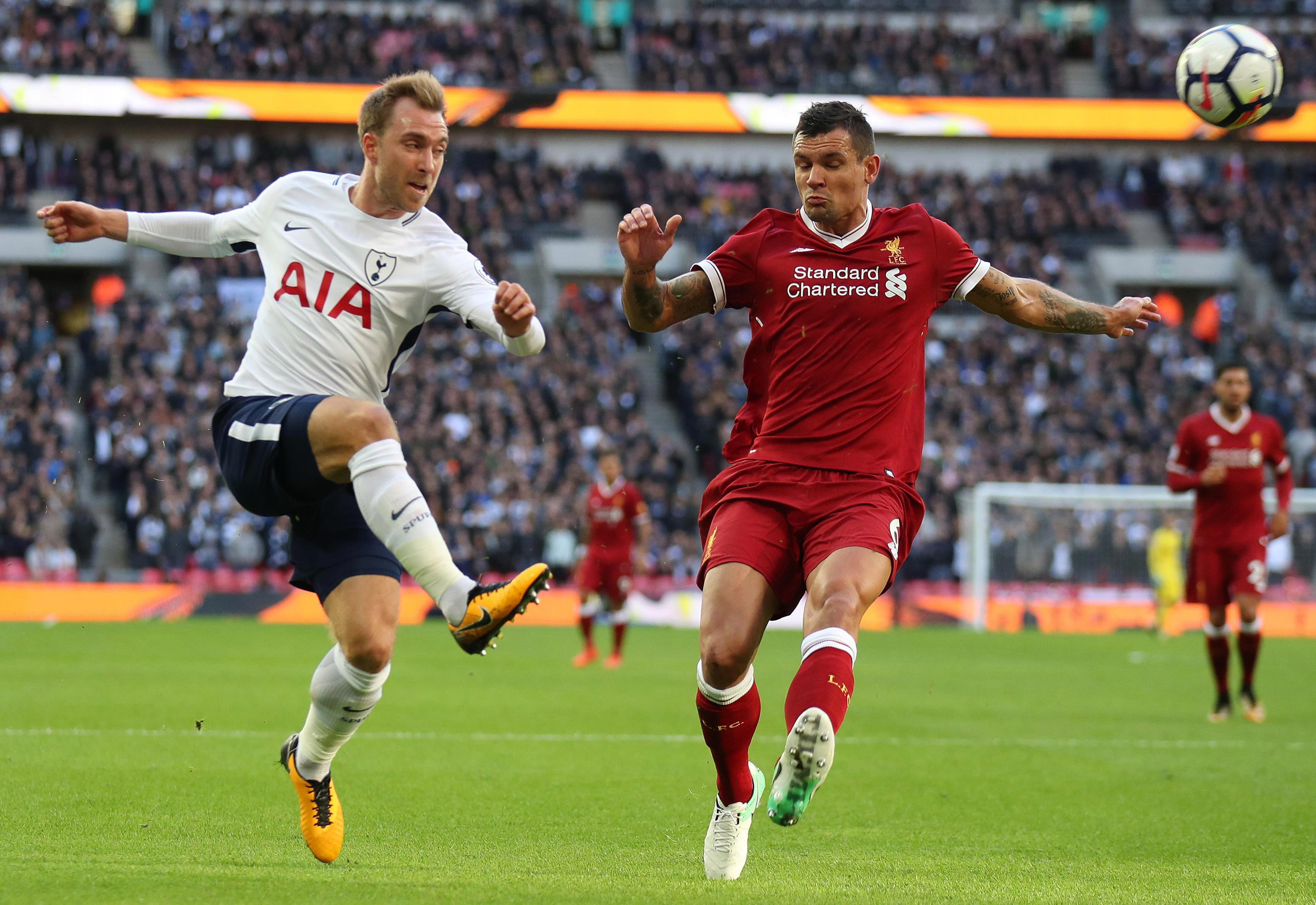 Christian Eriksen is another major threat to Liverpool at Anfield