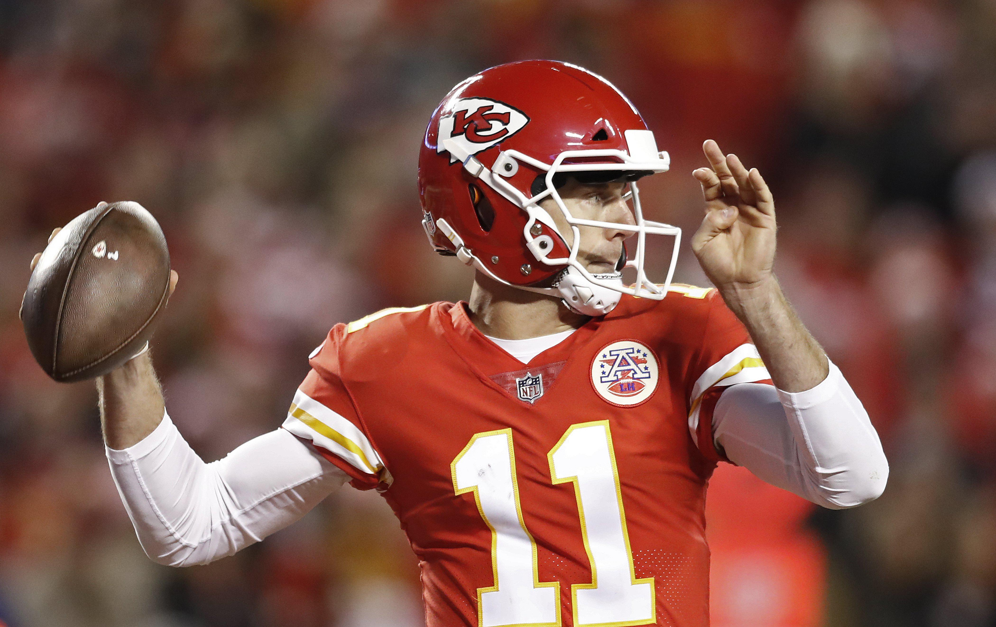 Alex Smith started the season in outrageous form