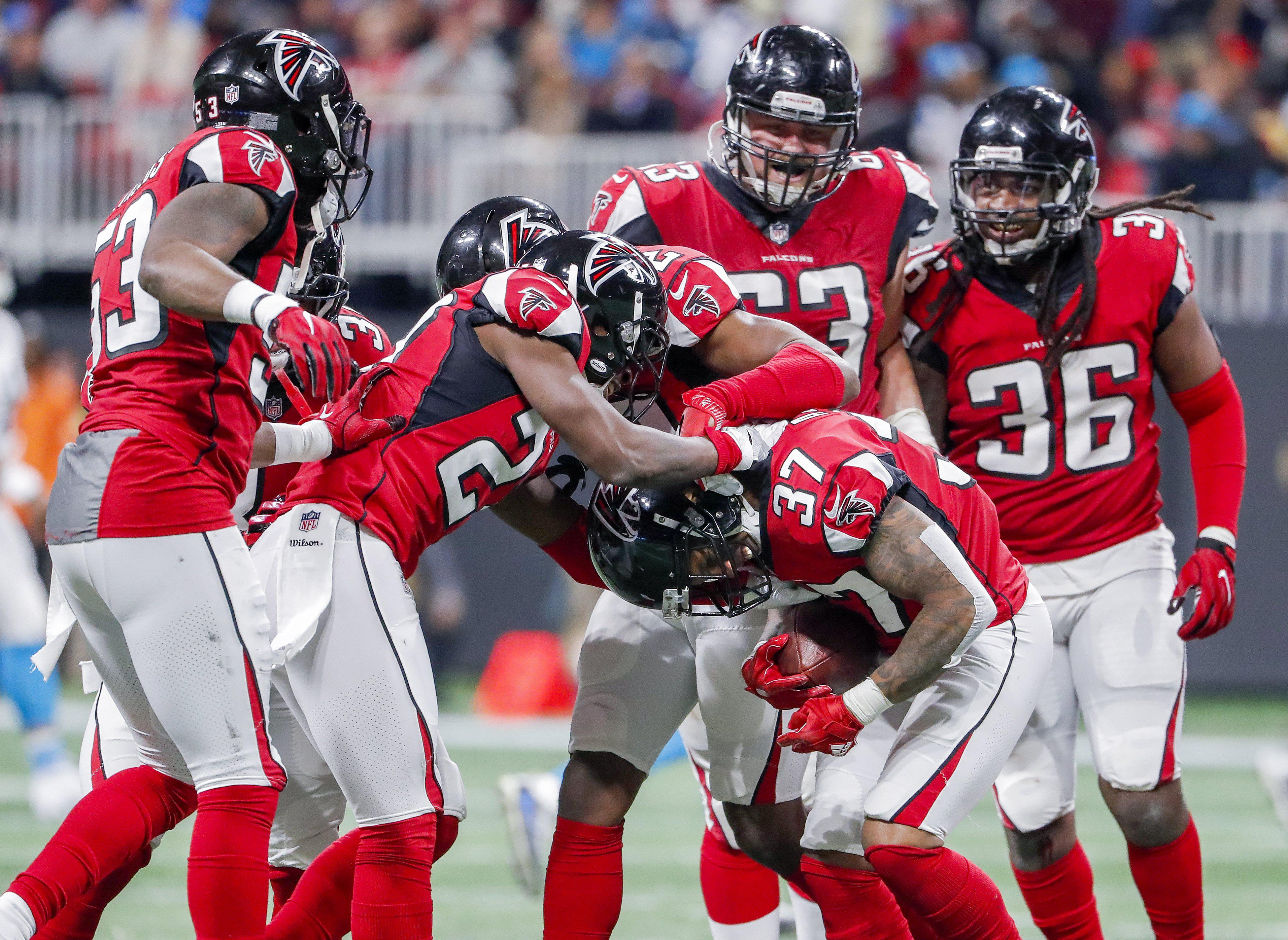 Atlanta are hoping to reach the Super Bowl once again but will have to win three times on the road to do so