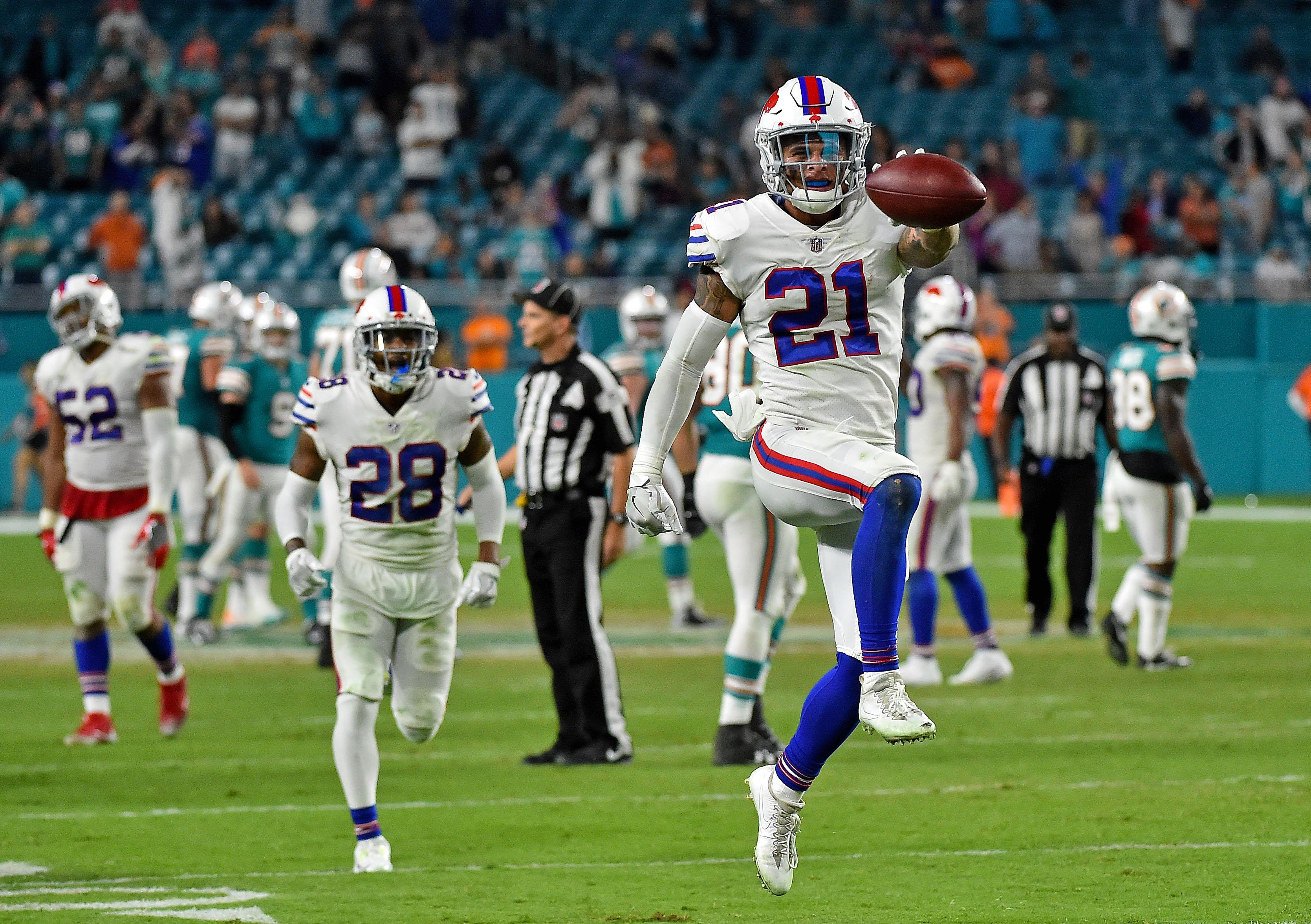 Buffalo beat Miami in week 17 but were helped by Baltimore's surprise loss to Cincinnati