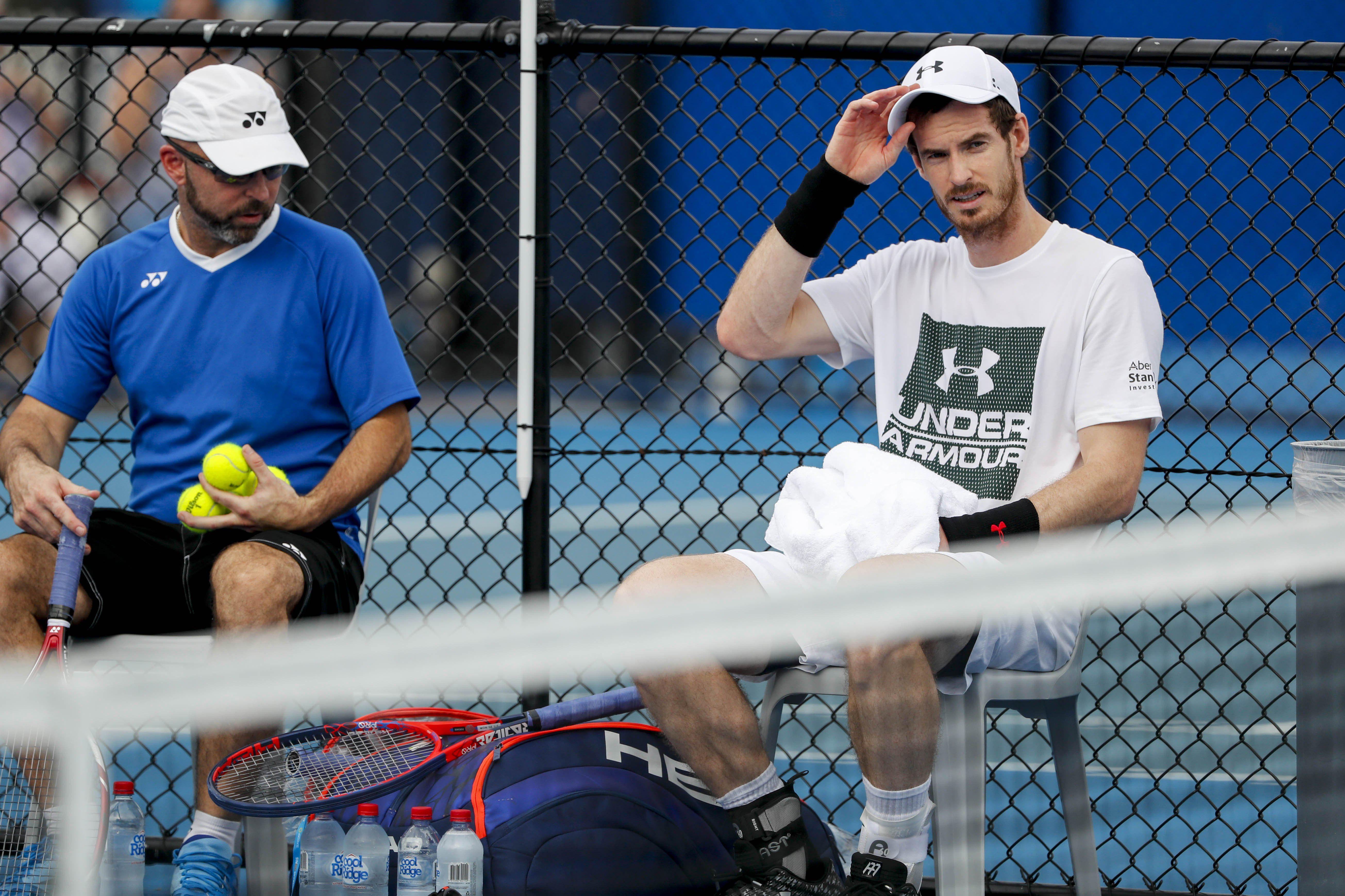 Andy Murray has also withdrawn - and several high profile men are injury doubts