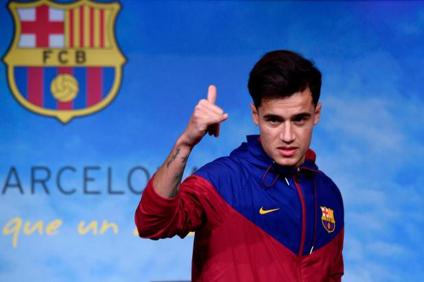 nintchdbpict000376697392 - Barcelona to officially present Philippe Coutinho to the media at Nou Camp on Monday