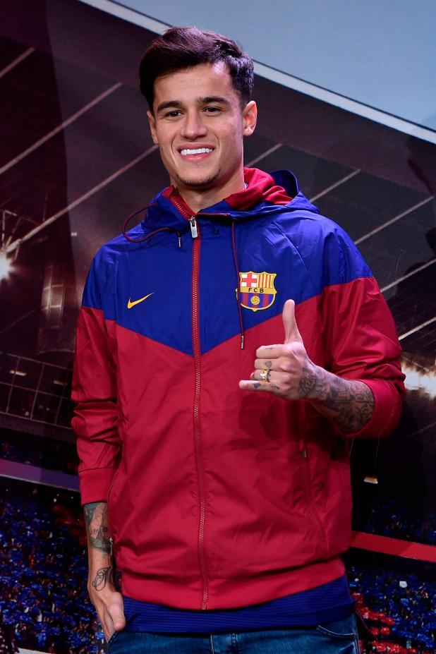 nintchdbpict000376697572 - Barcelona to officially present Philippe Coutinho to the media at Nou Camp on Monday