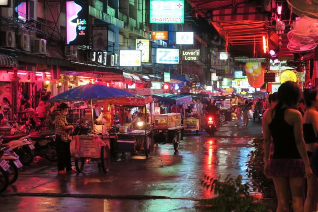 The incident occurred in Thailand's notoriously seedy Pattaya resort (file picture)