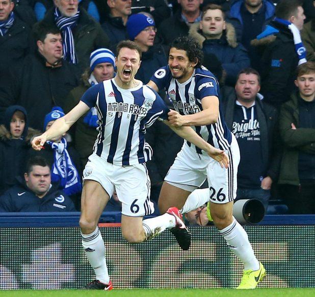 nintchdbpict000377957370 e1515857373840 - West Brom 2 Brighton zero: Watch highlights as Jonny Evans and Craig Dawson net to end 20-match winless run and get Alan Pardew's first Premier League win