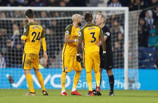 nintchdbpict000377973381 - West Brom 2 Brighton zero: Watch highlights as Jonny Evans and Craig Dawson net to end 20-match winless run and get Alan Pardew's first Premier League win