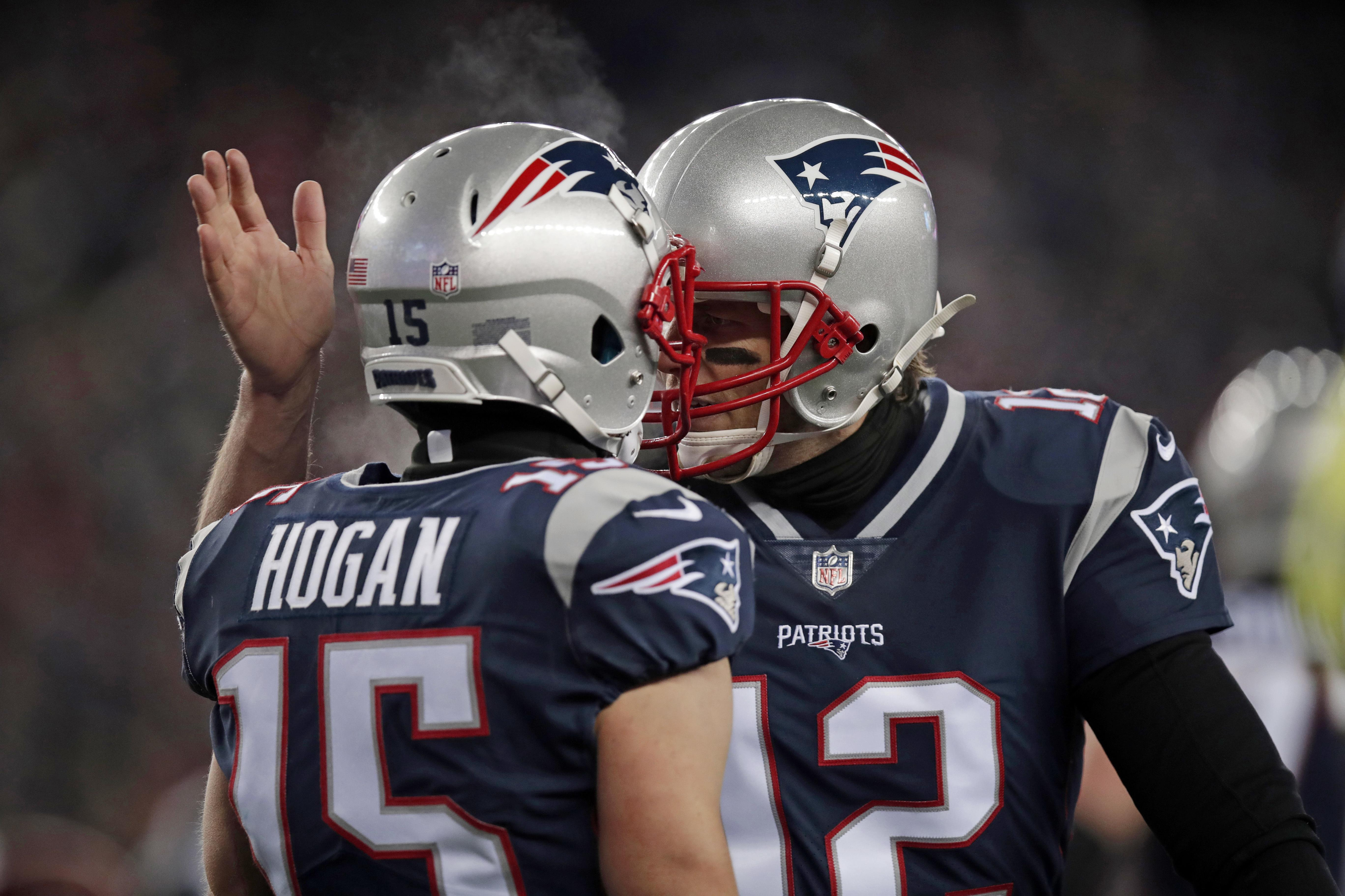 Tom Brady and the New England Patriots are in the AFC Championship Game for the seventh straight time