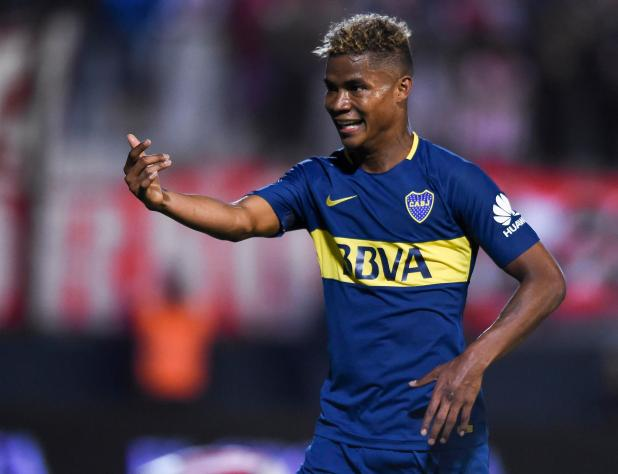 nintchdbpict000379037909 - Boca Juniors stars Edwin Cardona and Wilmar Barrios in court accused of threatening two women with a knife