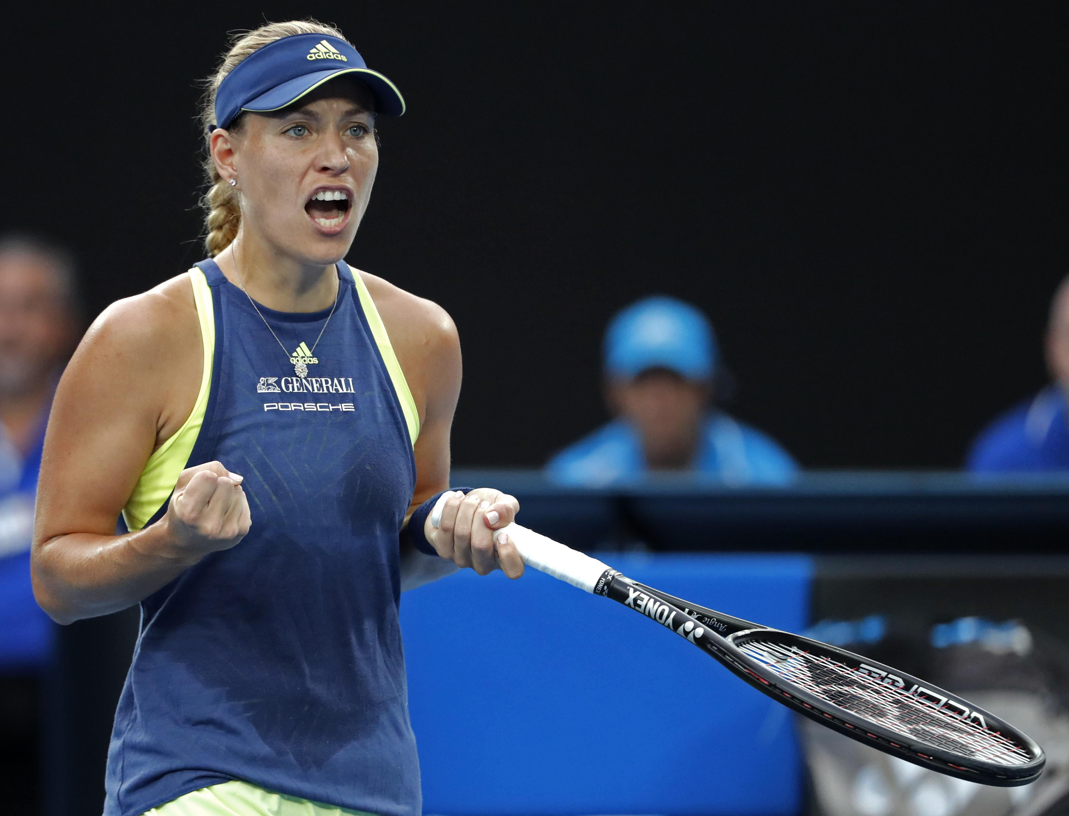 Angelique Kerber saved two match points then failed to convert two of her own before losing an epic encounter