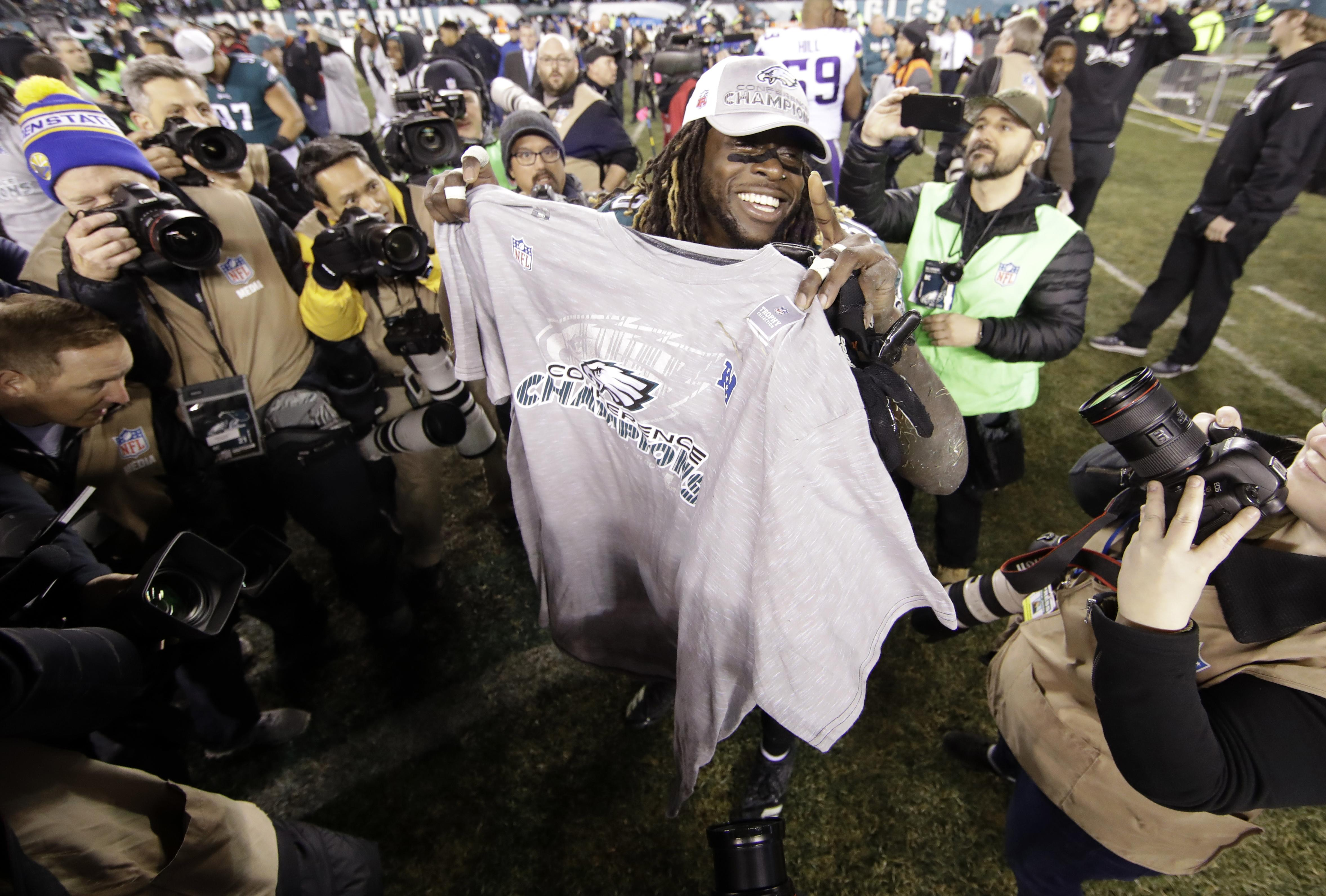 Jay Ajayi and the Philadelphia Eagles will take on the New England Patriots in the Super Bowl