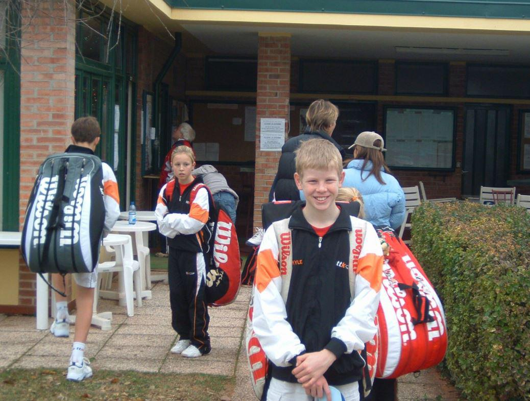 Kyle Edmund only picked up a tennis racket for the first time at the age of ten
