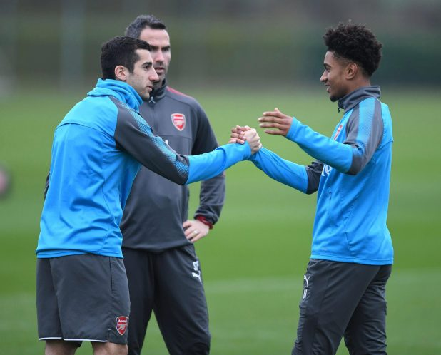nintchdbpict000380231011 e1516717028813 - Henrikh Mkhitaryan trains with Arsenal for the first time since move from Manchester United