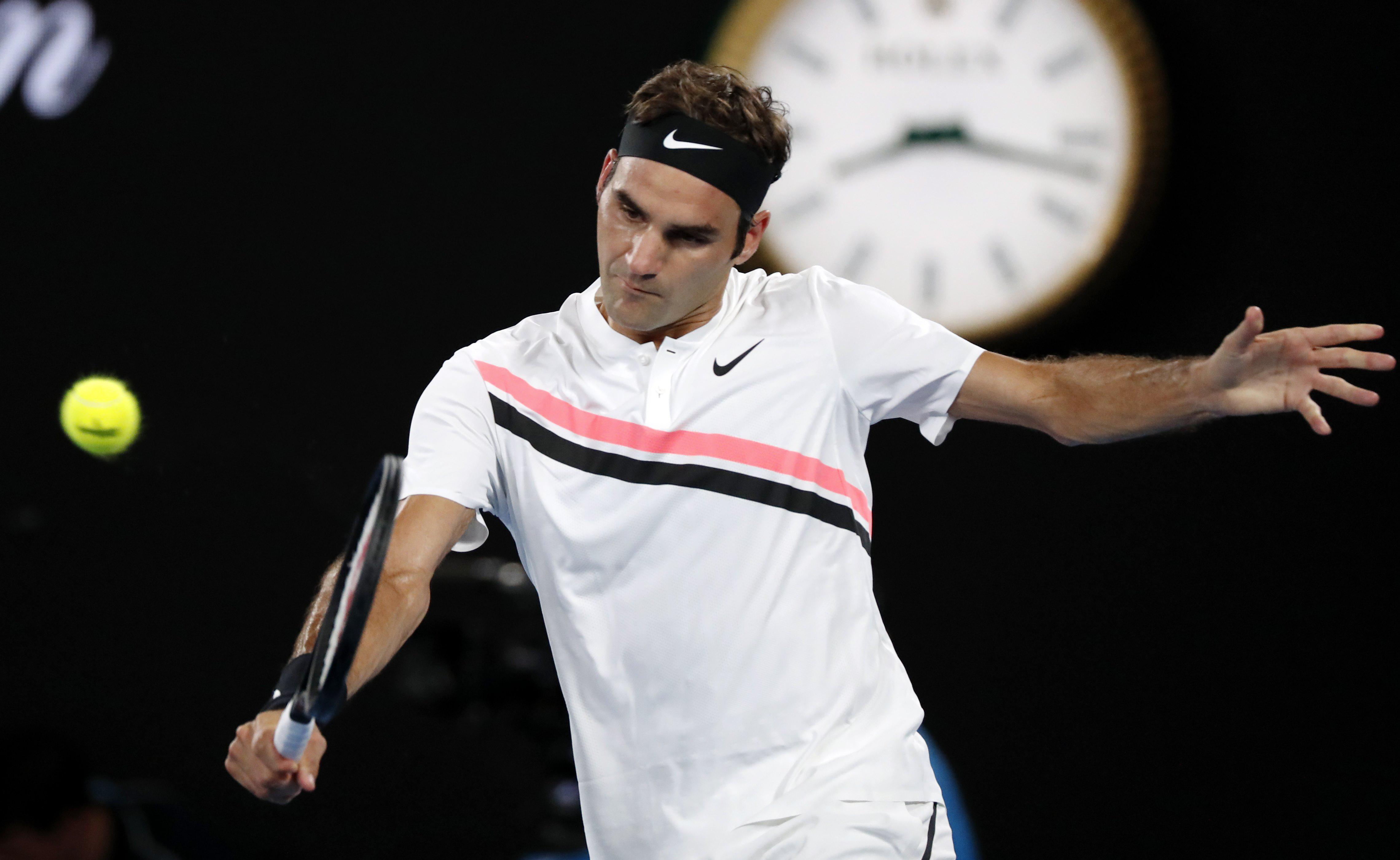 Roger Federer's victory was booed by crowd in Australia
