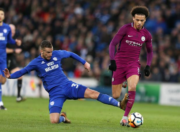 nintchdbpict0003812721422 - Pep Guardiola berated referee Lee Mason for failing to protect Man City players like injured Leroy Sane