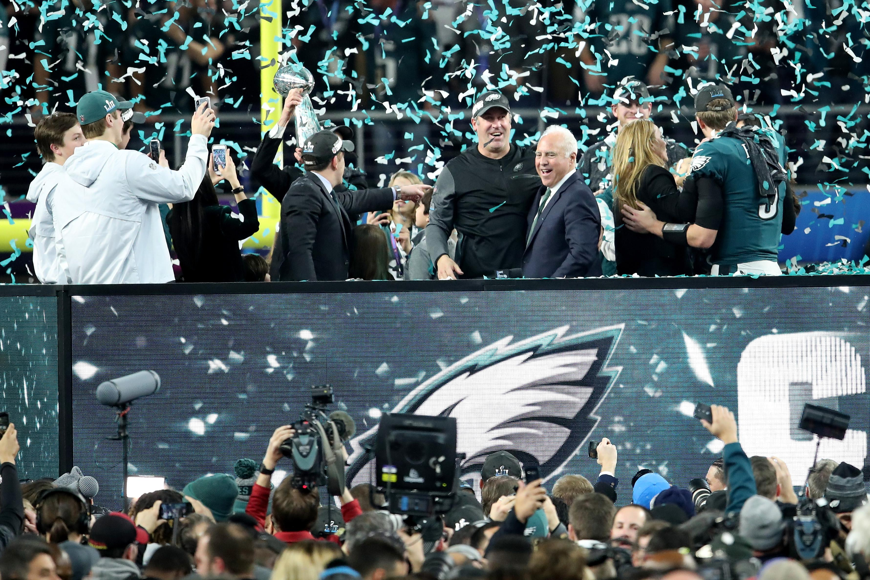 Philadelphia were victorious in Super Bowl 52 at US Bank Stadium