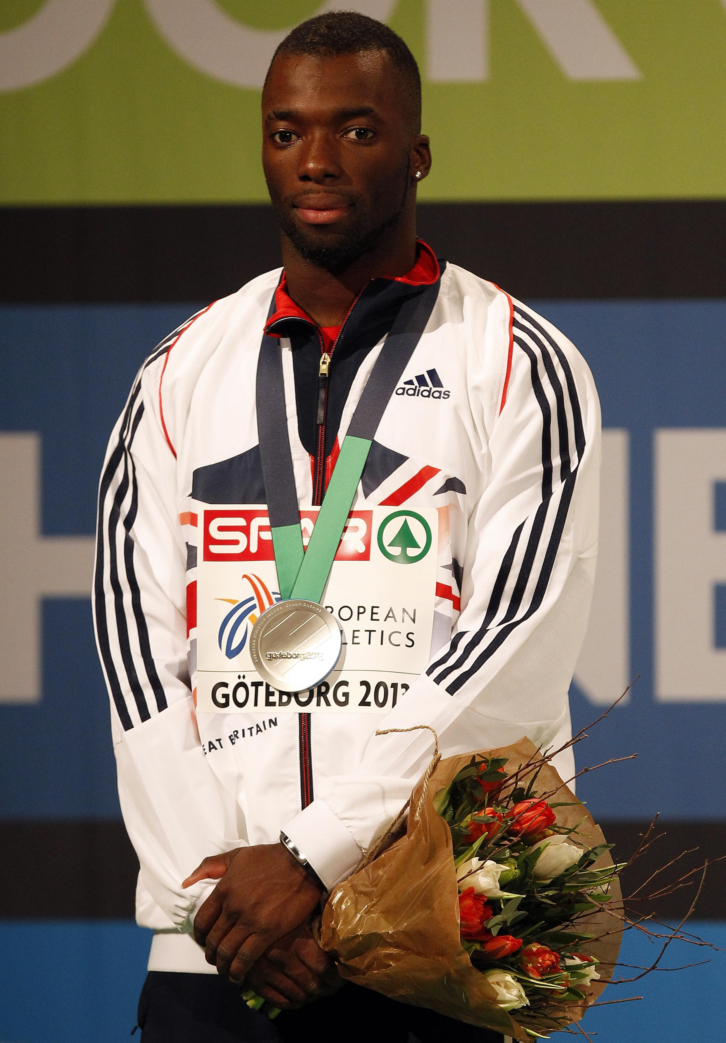 Nigel Levine's sprint career is now in jeopardy after being charged with doping