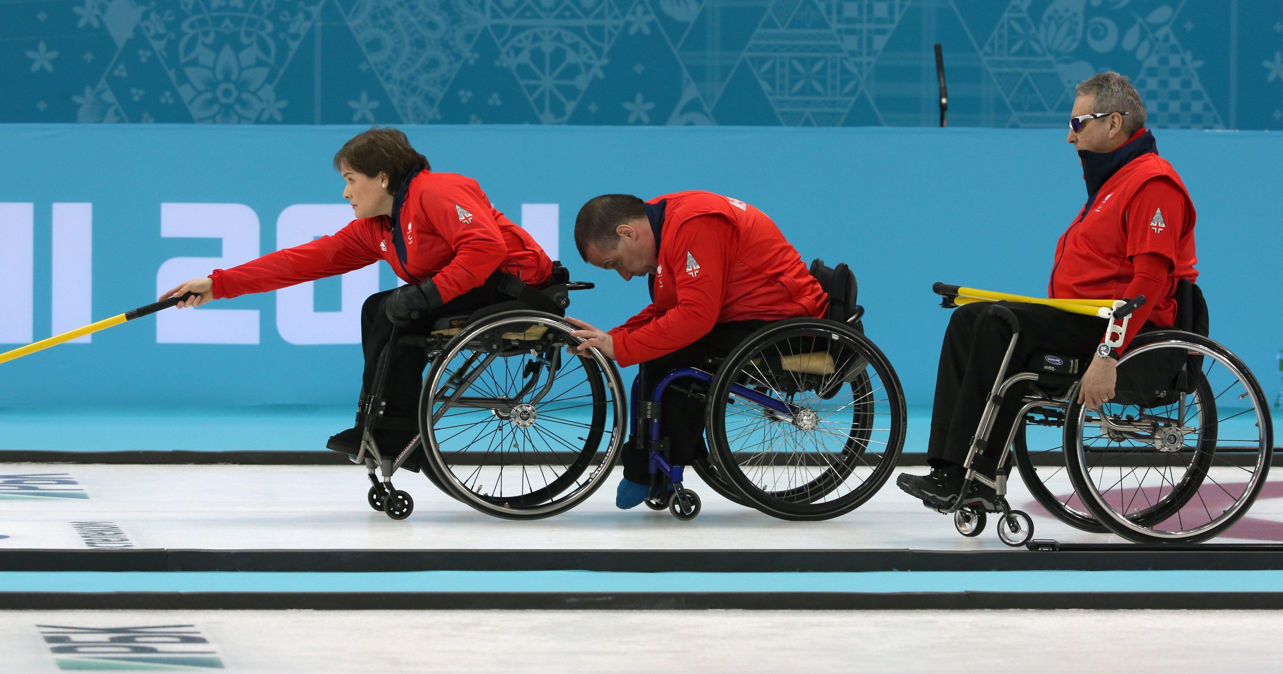 Aileen Neilson will skip the wheelchair curling team as they look to improve on their bronze from Sochi