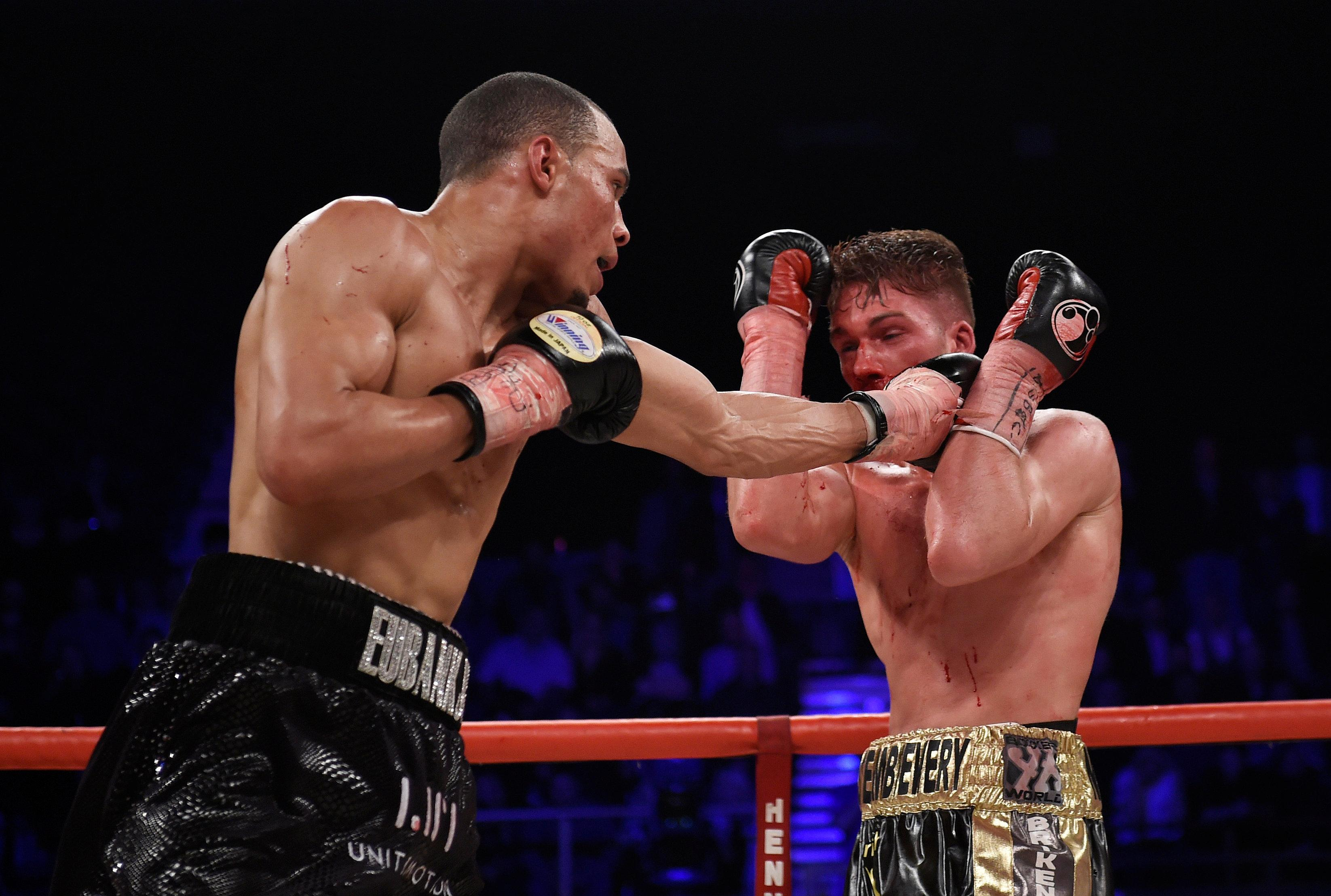 Eubank Sr used the Nick Blackwell fight to warn George Groves of his sons power
