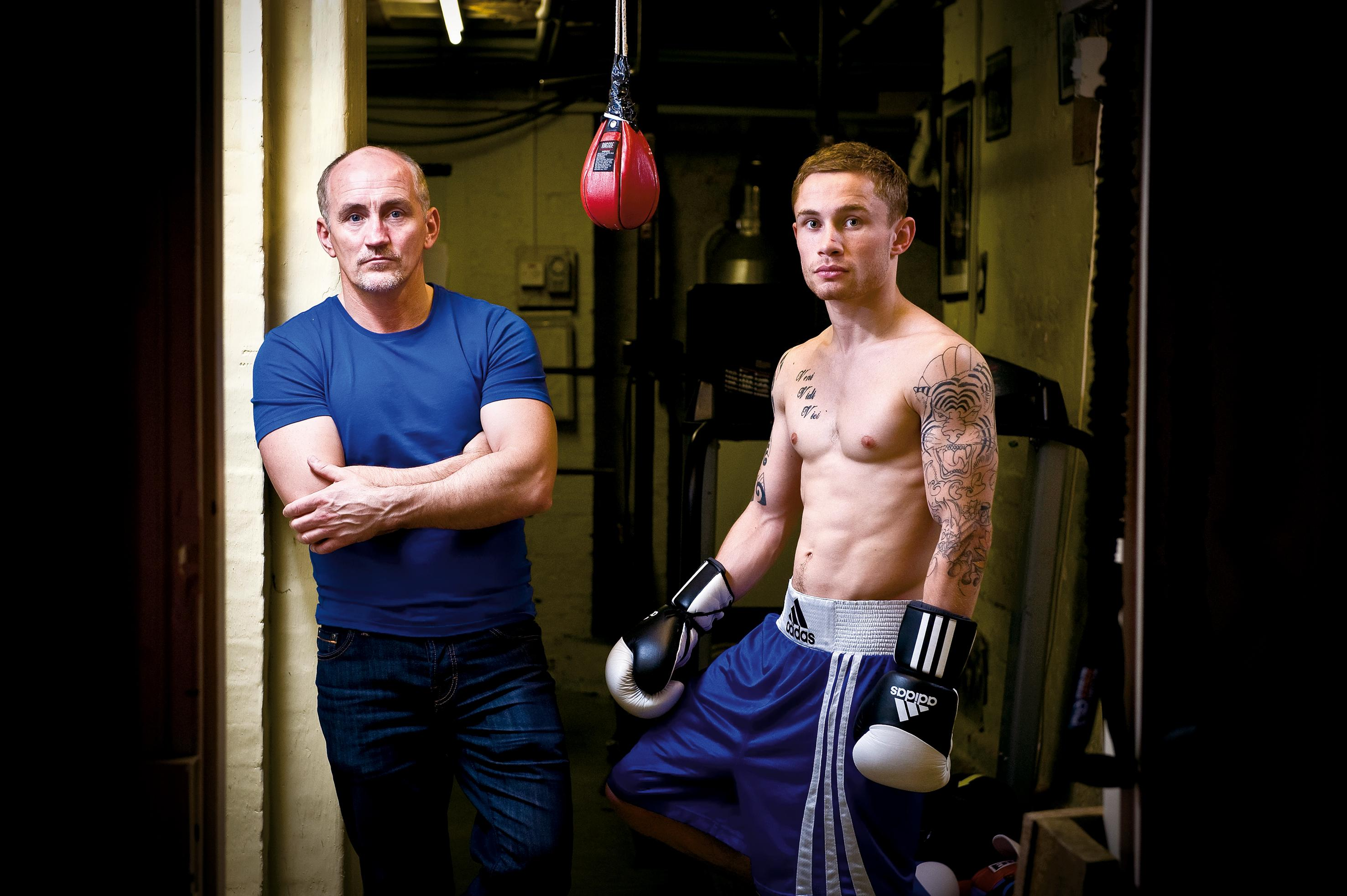 Carl Frampton and Cyclone Promotions are both taking each other to court