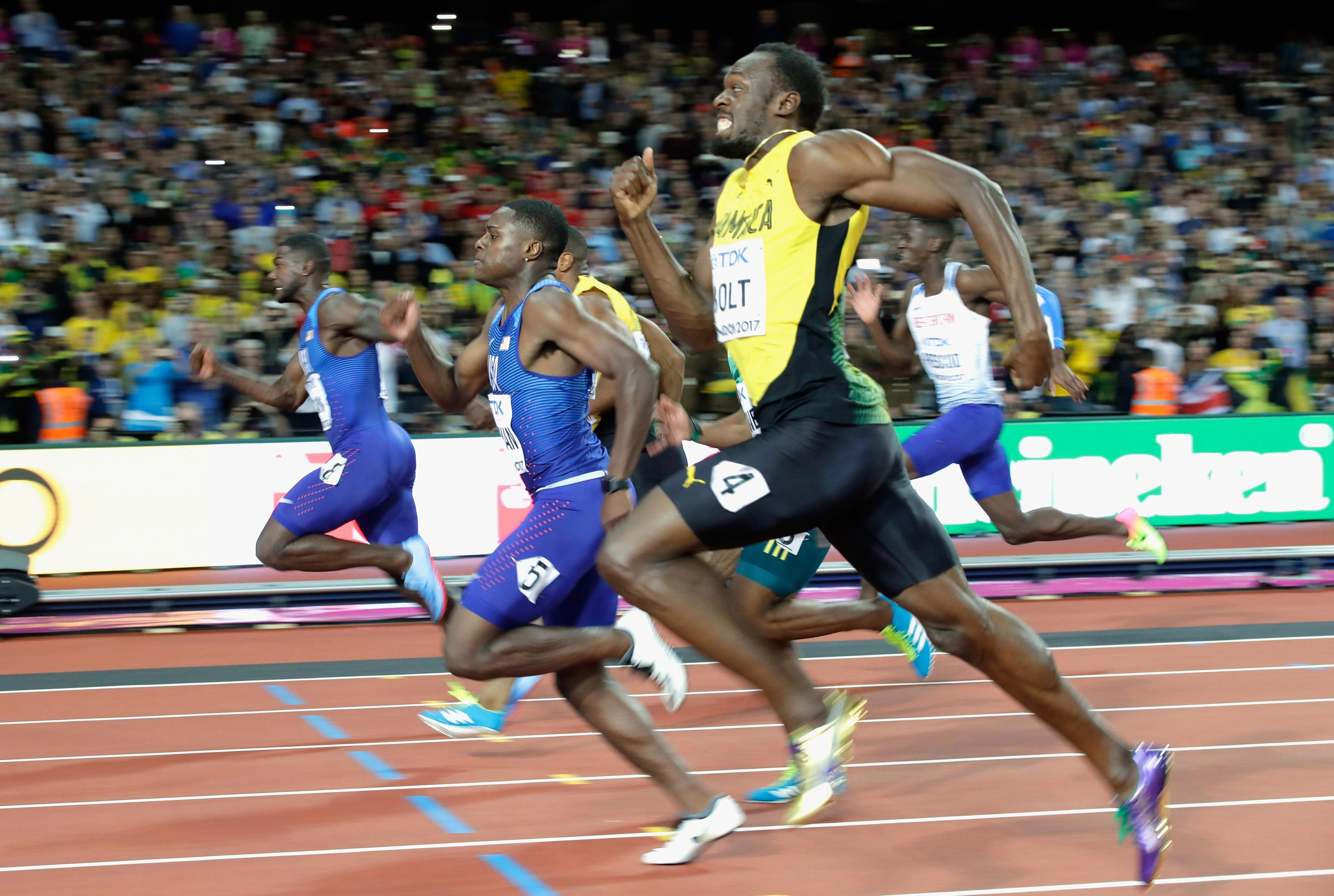 Coleman finished second behind Justin Gatlin and ahead of Usain Bolt in third at the World Championships in London last summer