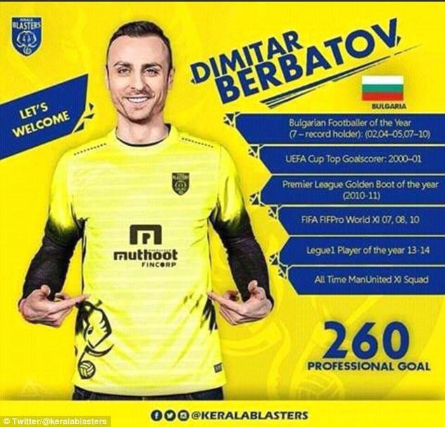Dimitar Berbatov has been a flop in the Indian Super League