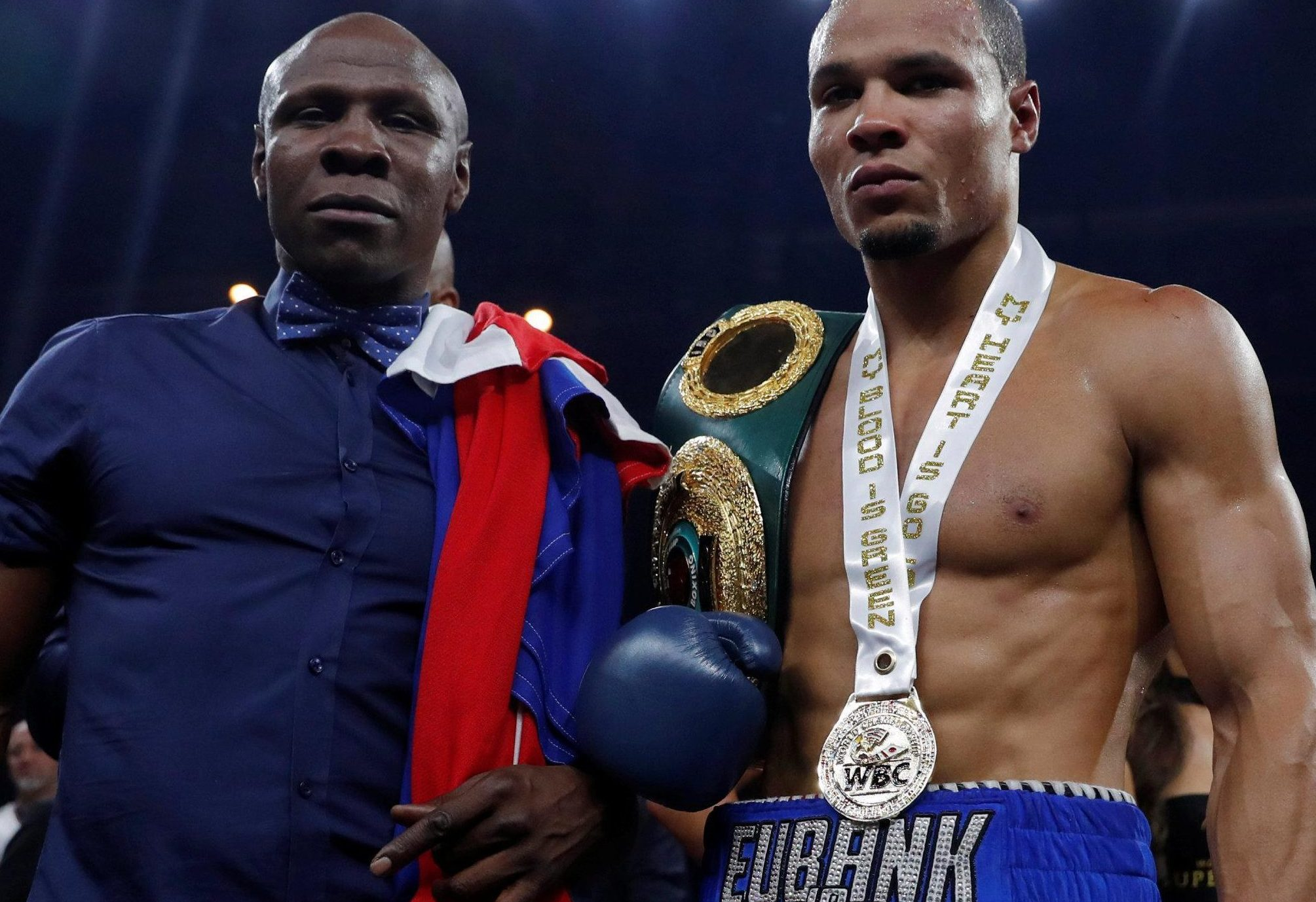 Chris Eubank Jnr can change the dynamic of his relationship with his dad - if he wins his world super-middleweight title fight with George Groves on Saturday