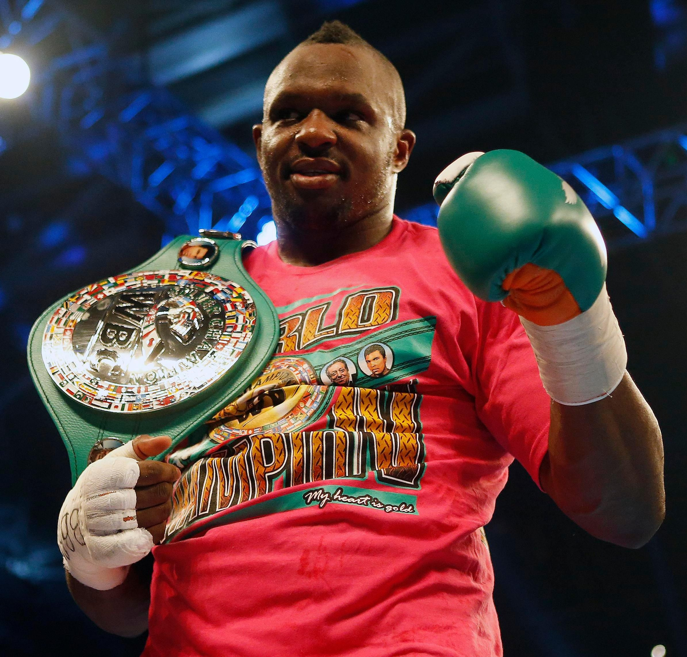 Dillian Whyte has high hopes of facing Anthony Joshua again