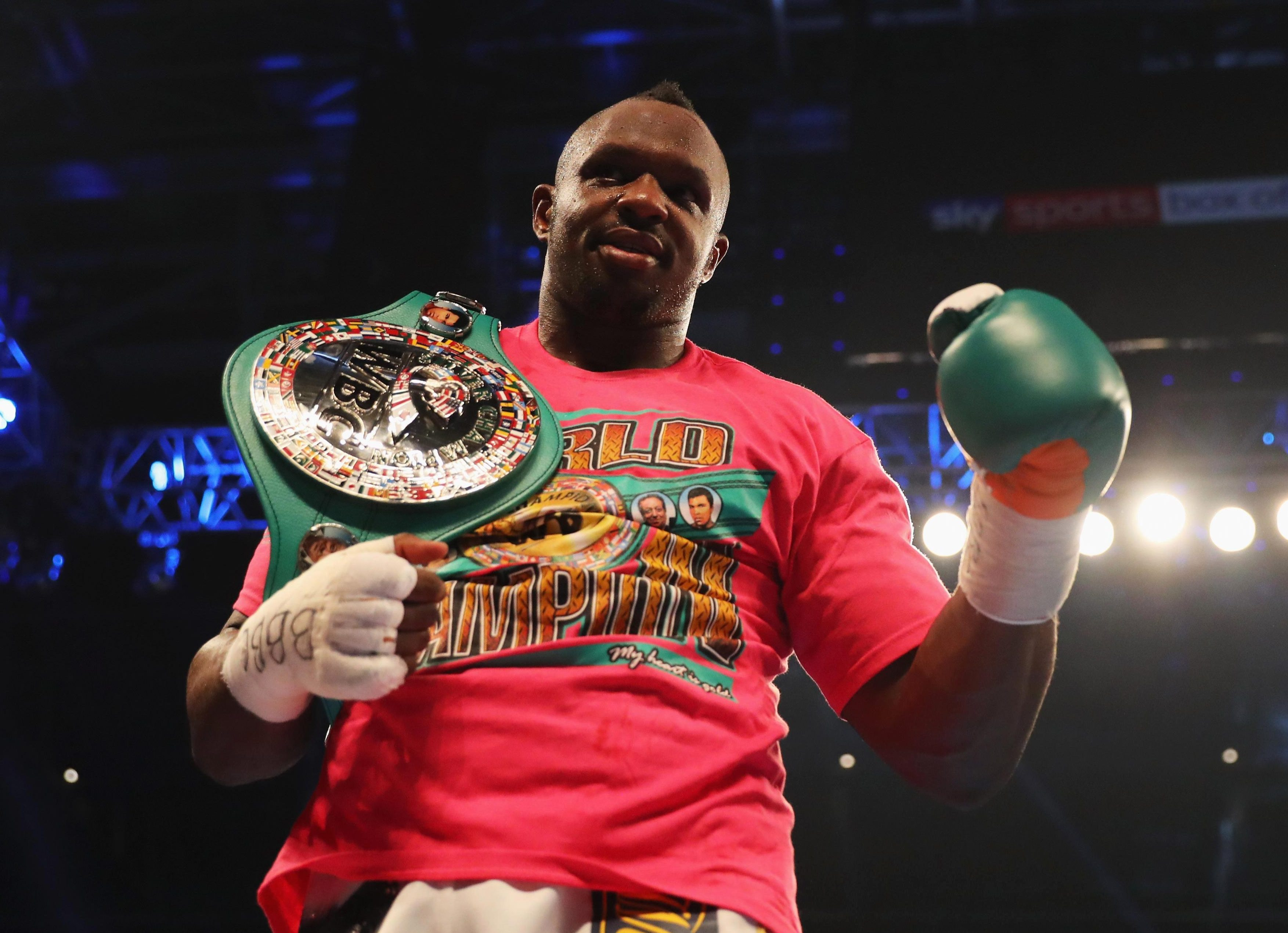 Beating Helenius ensured Dillian Whyte bagged the WBC Silver heavyweight belt