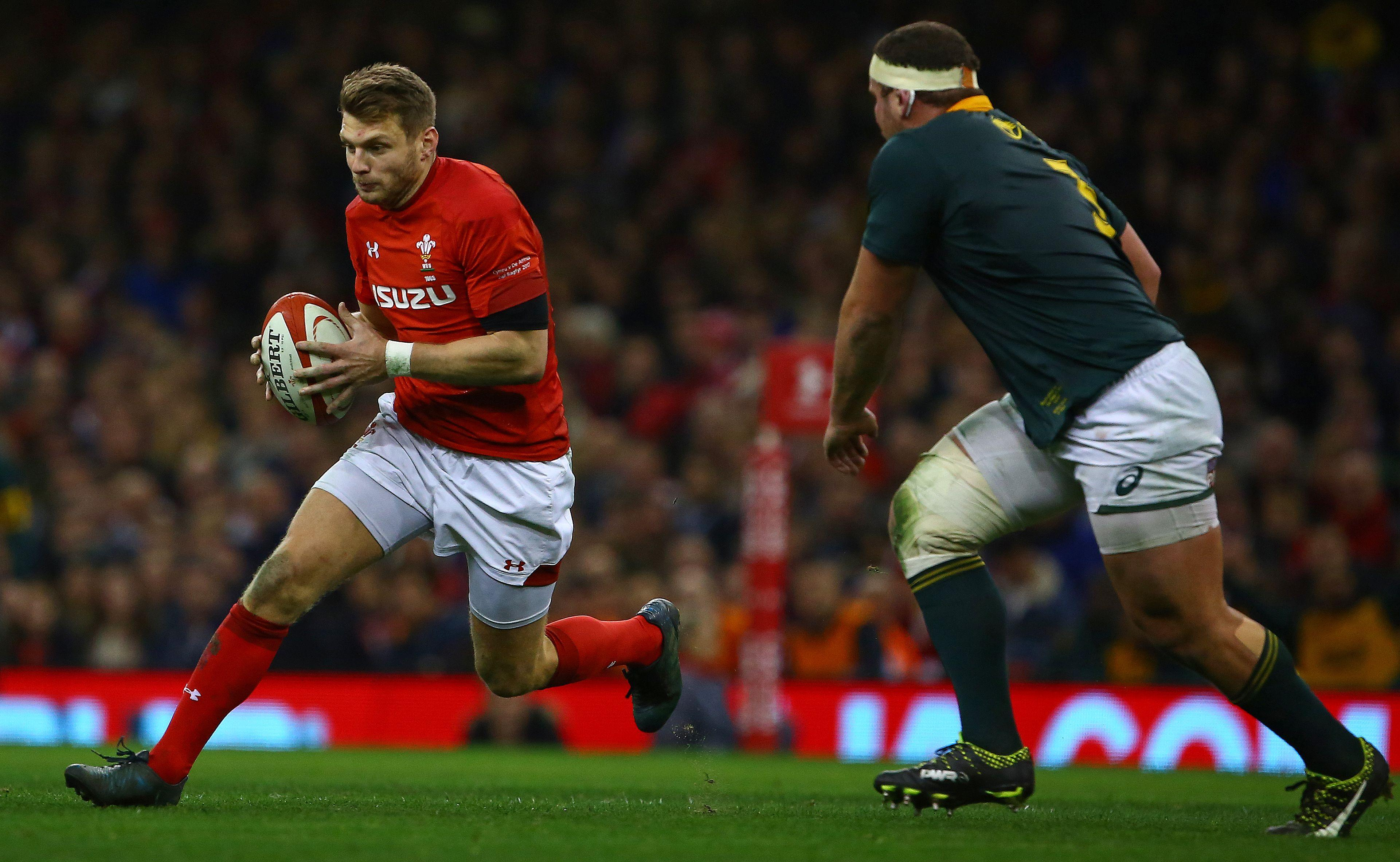 Wales fly-half Dan Biggar will the Six Nations match due to injury