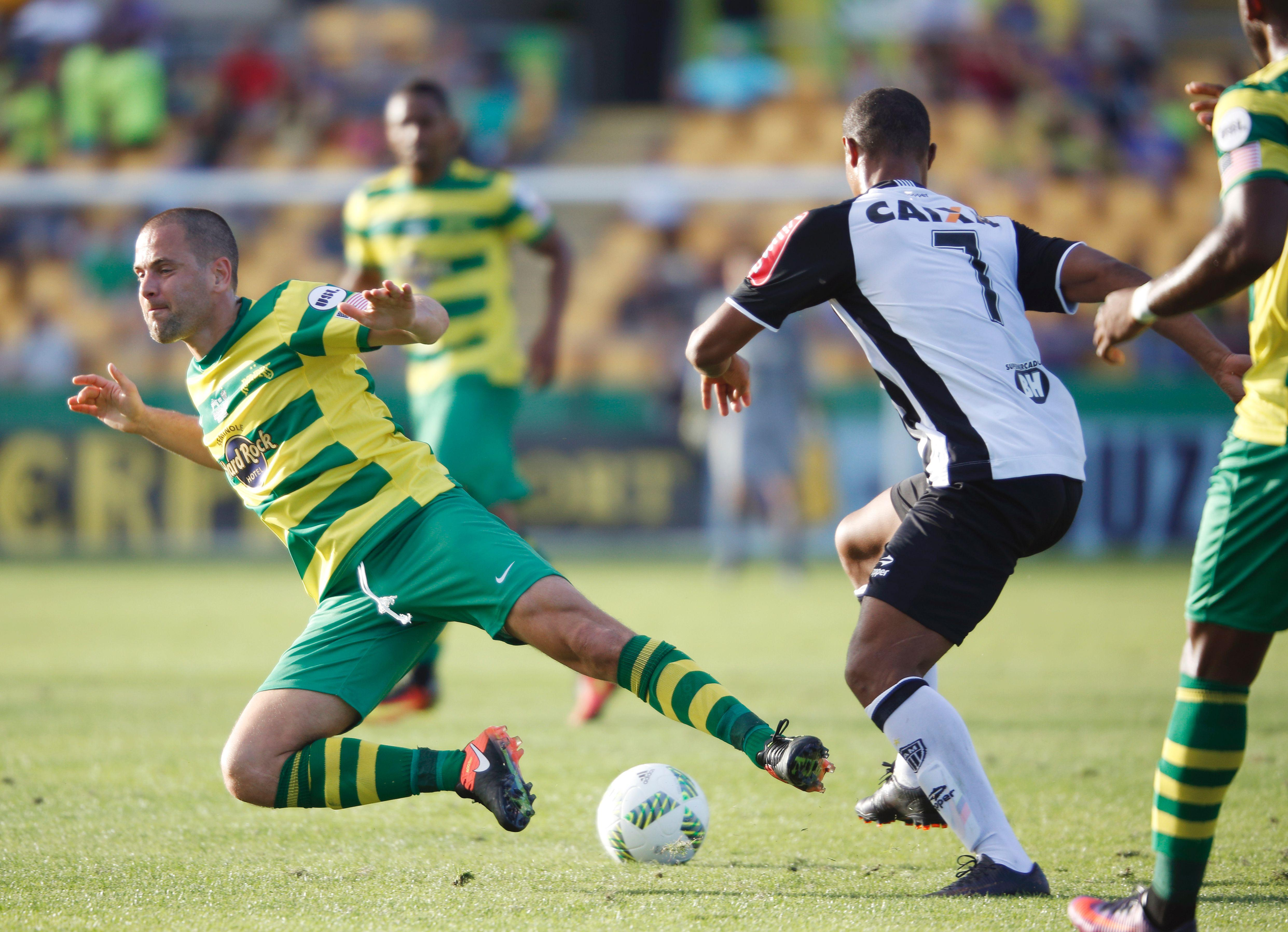 Joe Cole is currently with the Tampa Bay Rowdies