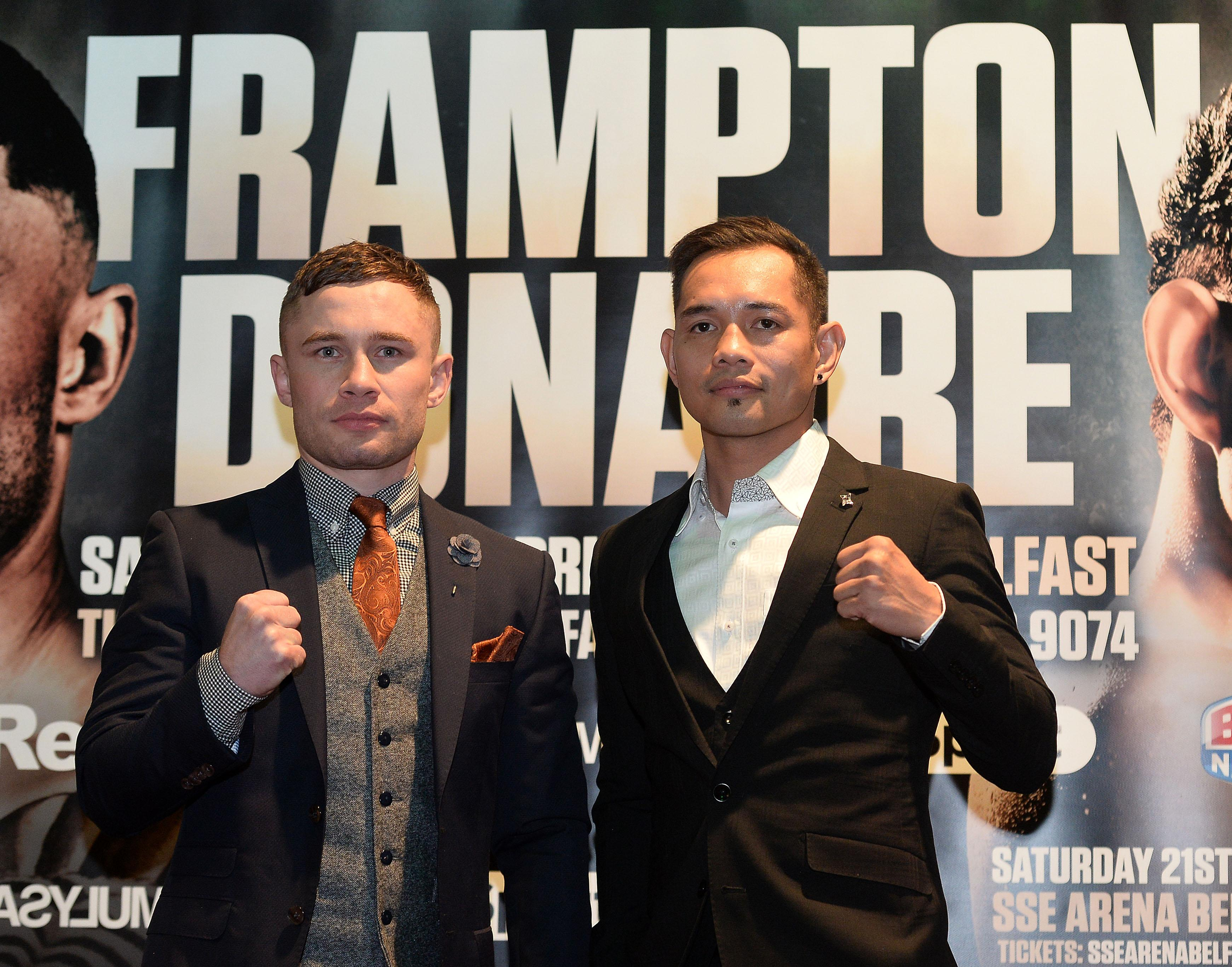 Carl Frampton is taking legal proceeding against his former manager