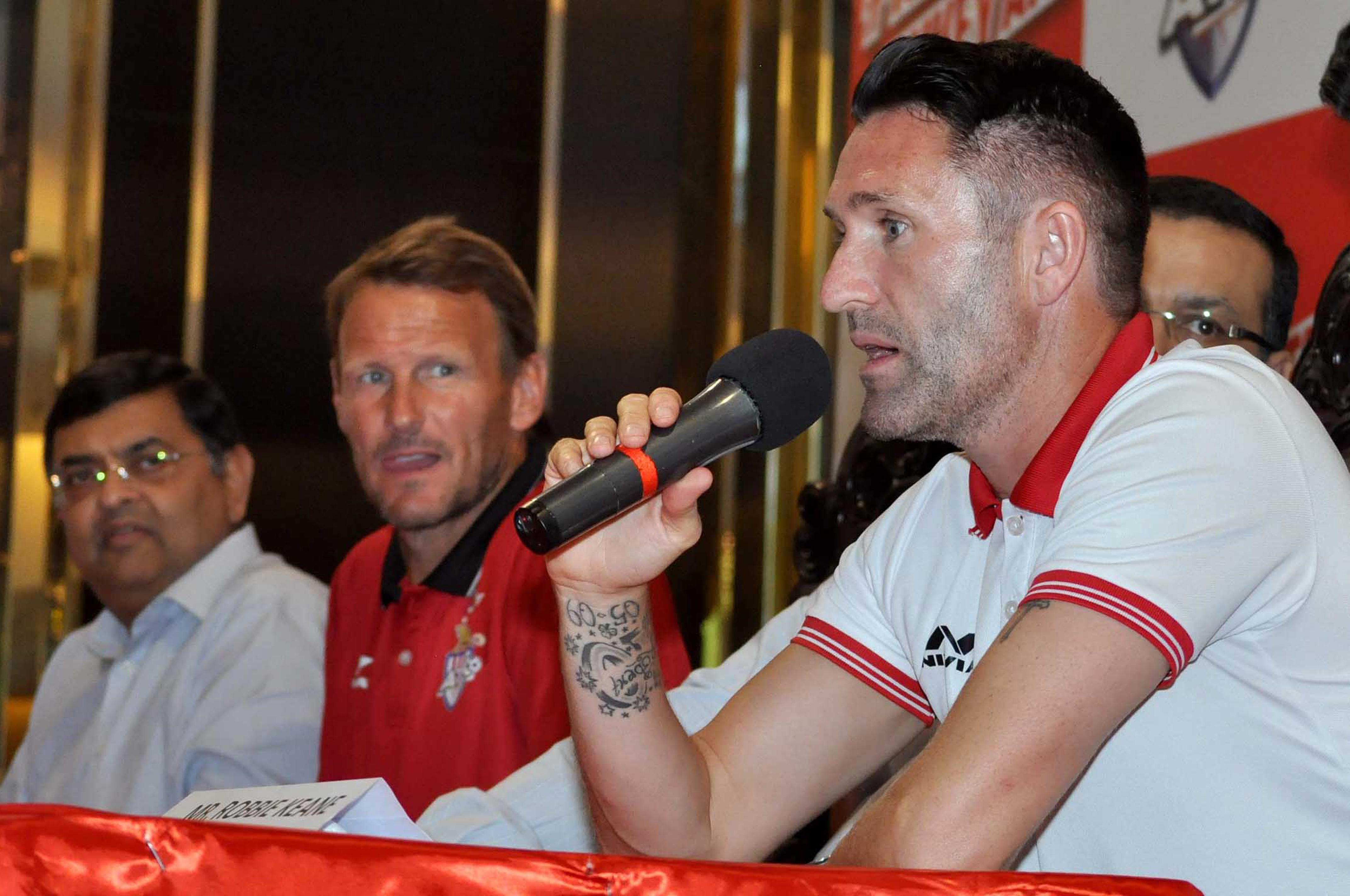 Robbie Keane moved to India to play for Teddy Sheringham but the ex-Man United man was sacked