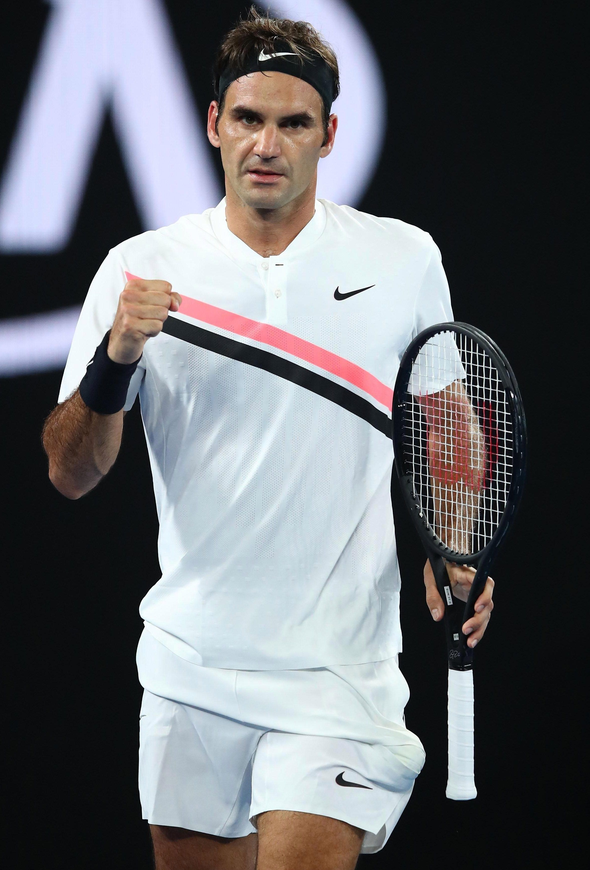 Roger Federer is proving age is just a number, and continues to play at the top of his game