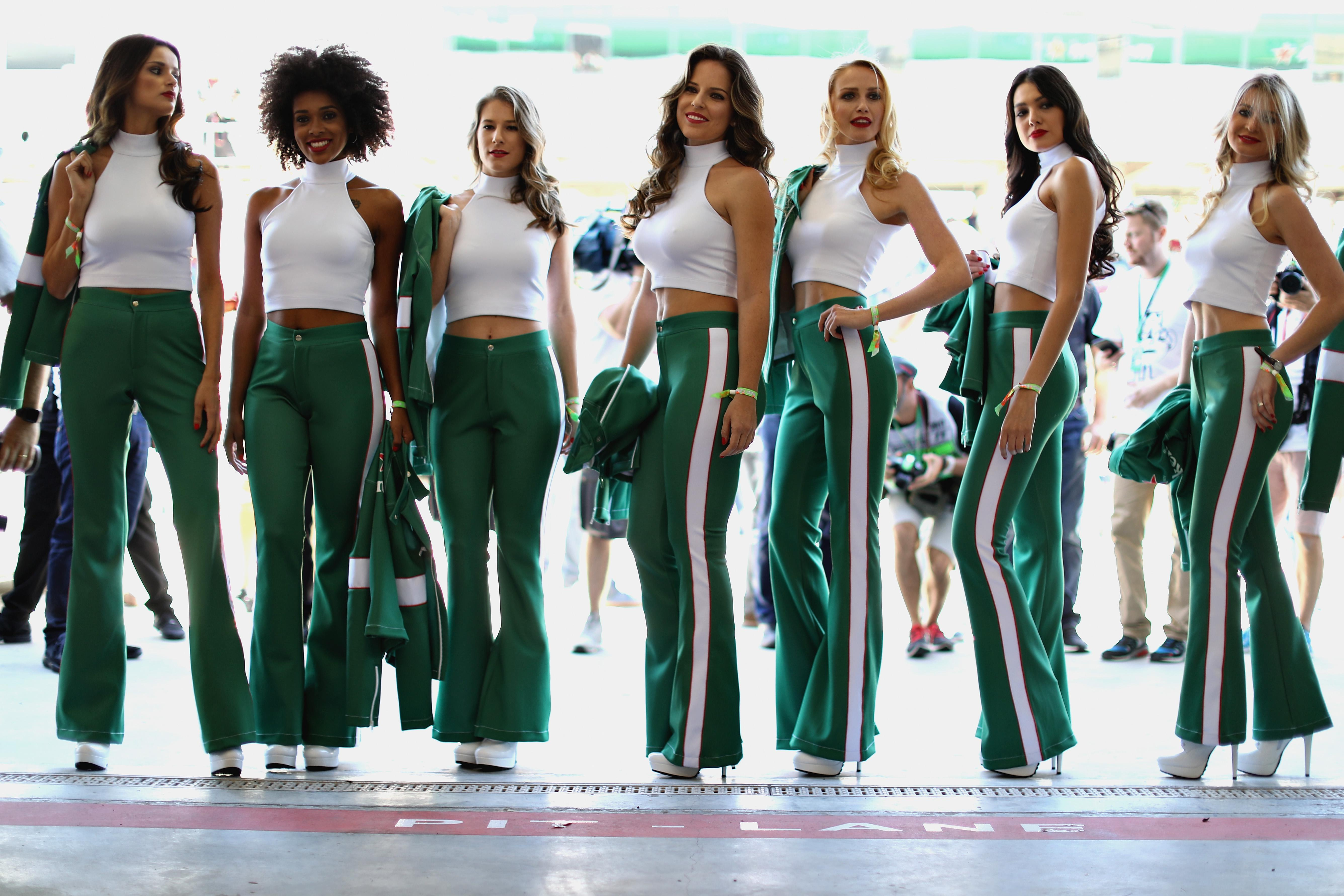 F1 have replaced 'grid girls' with 'grid kids' for this season