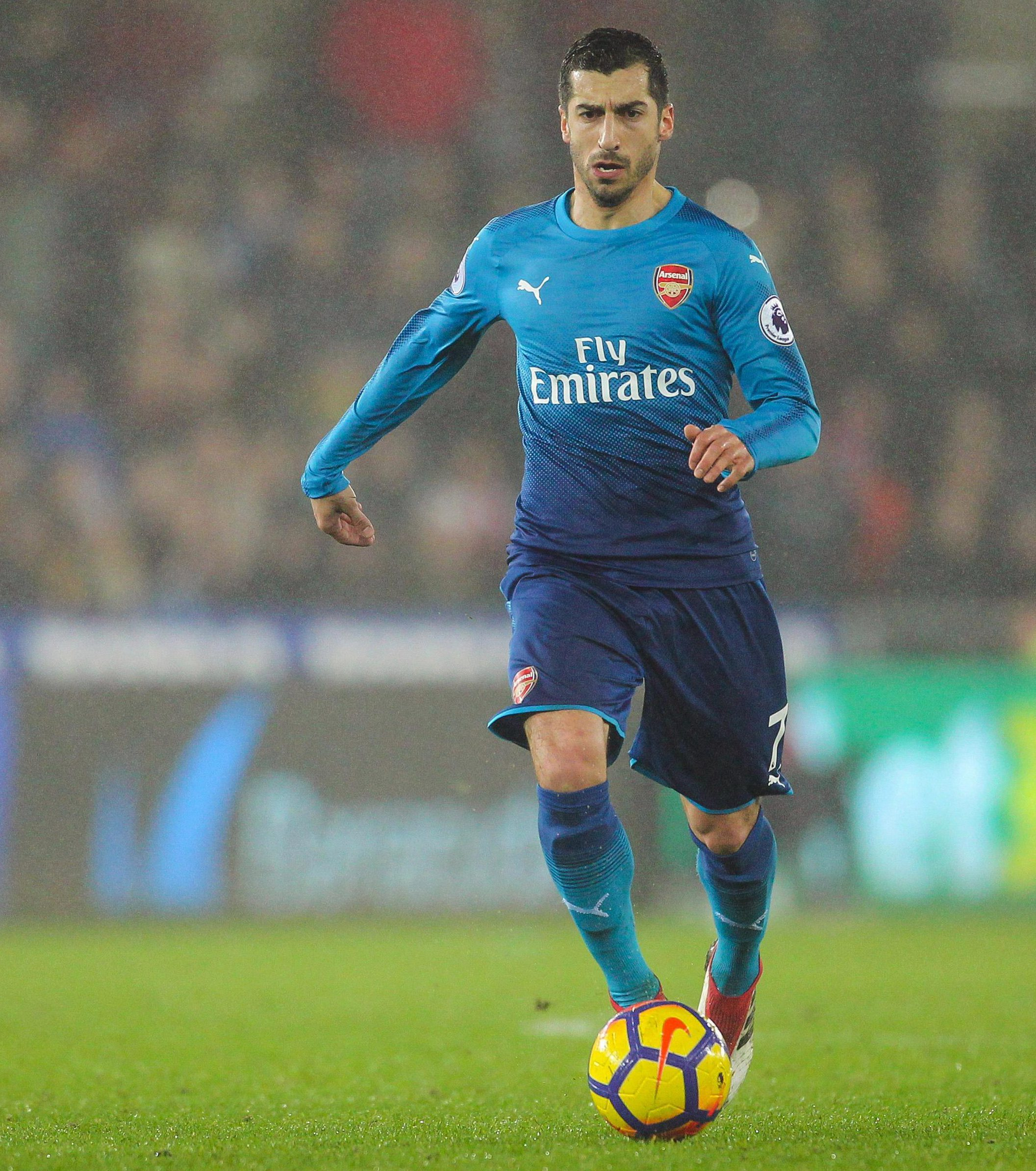 Henrikh Mkhitaryan has been added to Arsenal's Europa League squad and will wear the number 77 shirt