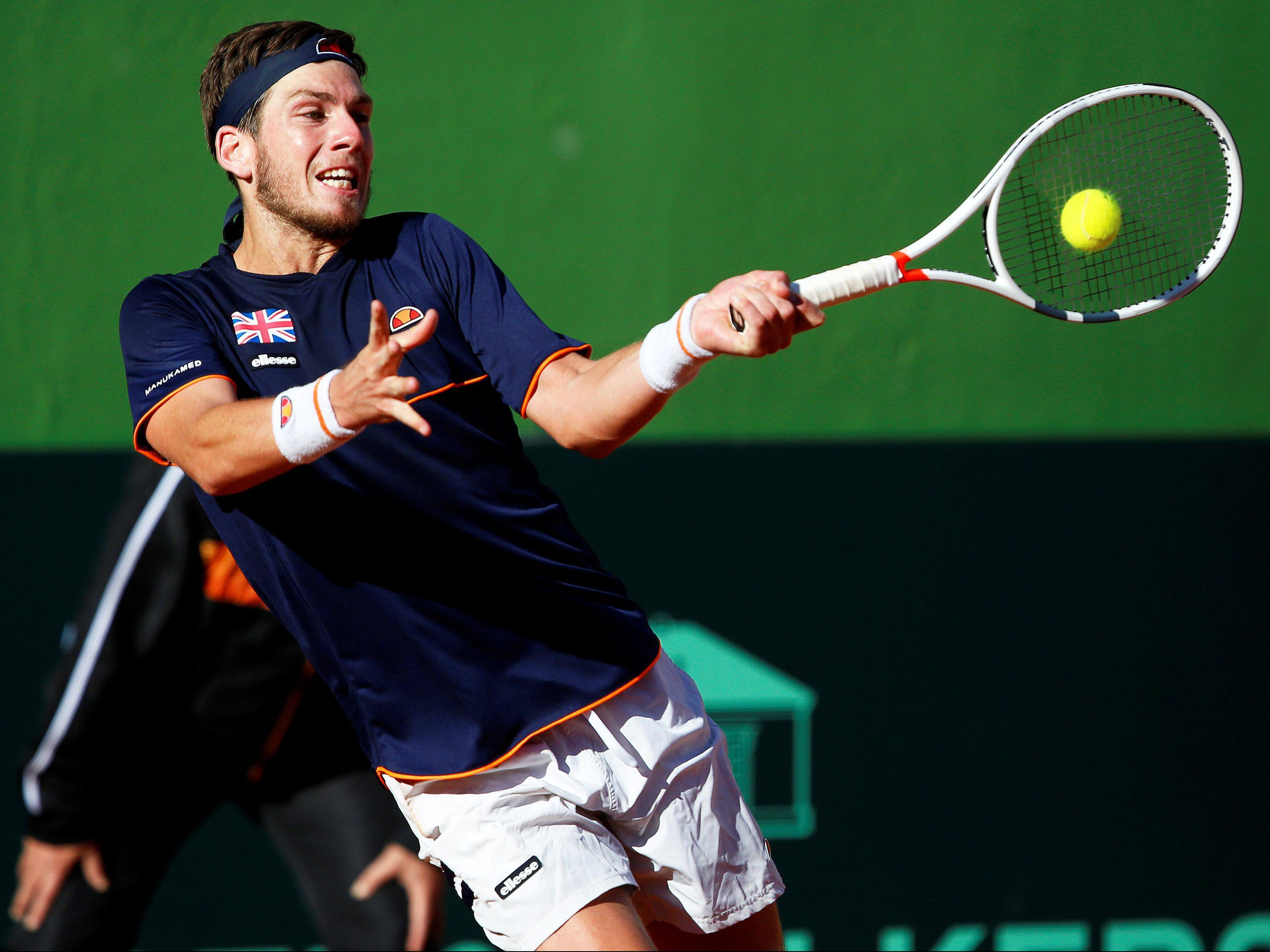 Cameron Norrie was hailed by Andy Murray for a surprise win that levelled the tie